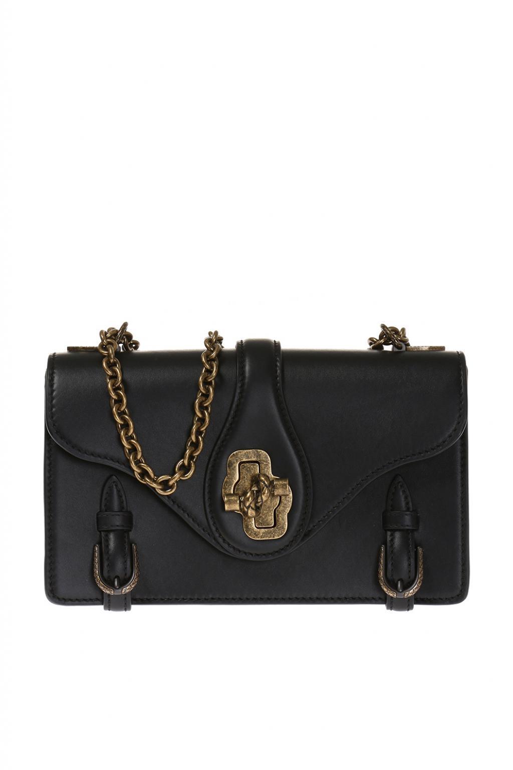 Lyst - Bottega Veneta  city Knot  Shoulder Bag in Black de08ec8a86c0a