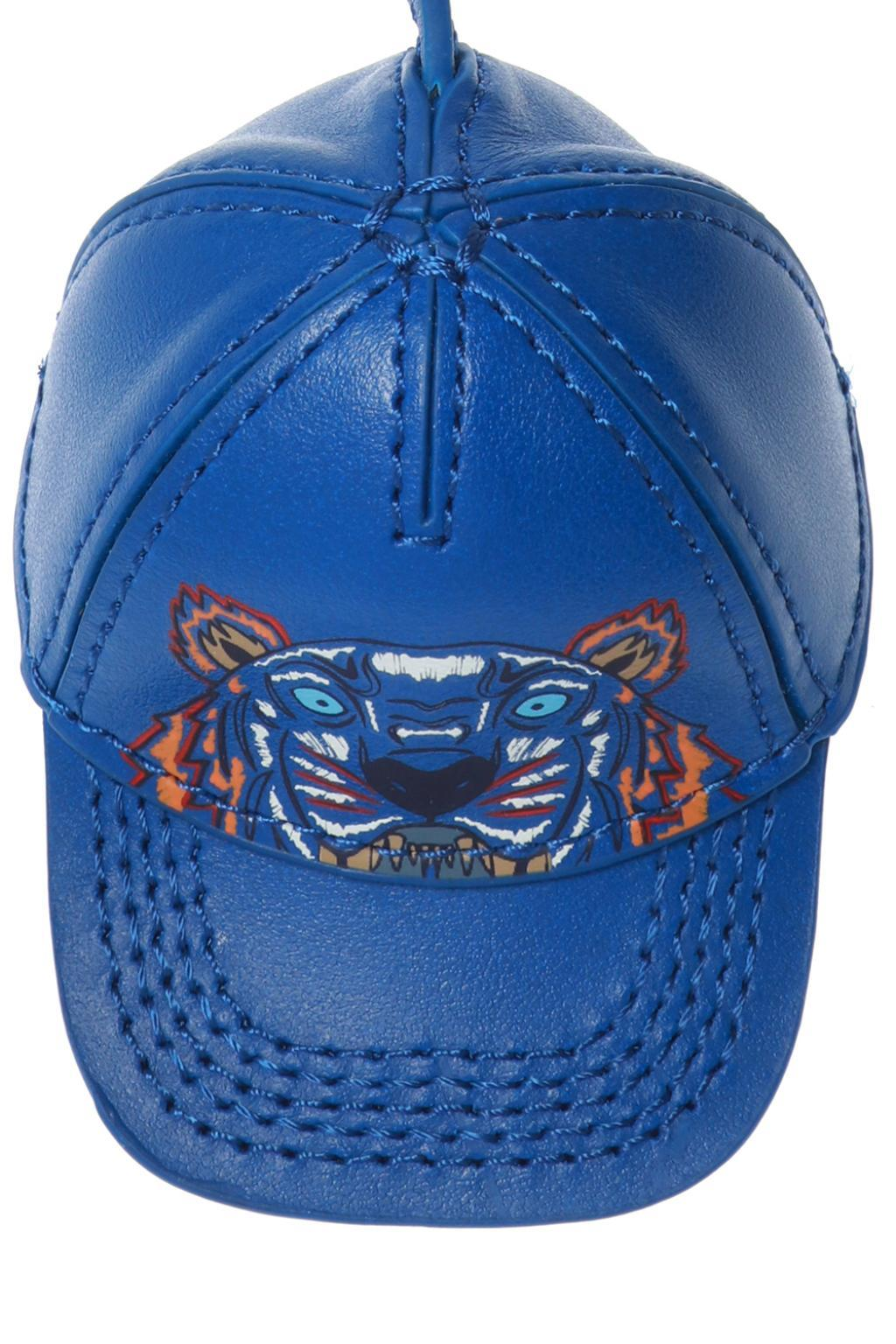 dd640c07 KENZO - Blue Hat Keychain for Men - Lyst. View fullscreen