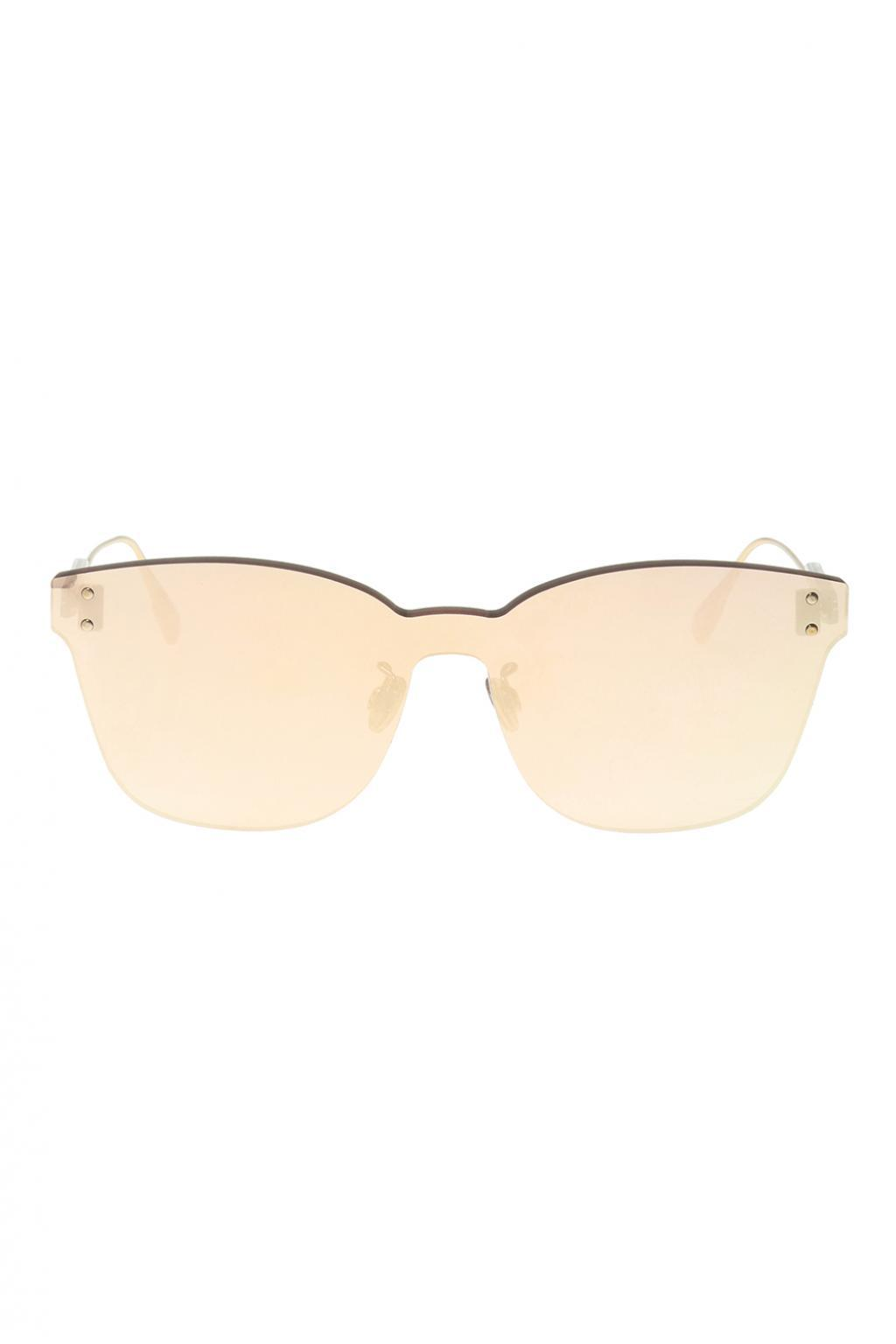 4c3580bcda0 Lyst - Dior  color Quake 2  Sunglasses in Metallic for Men