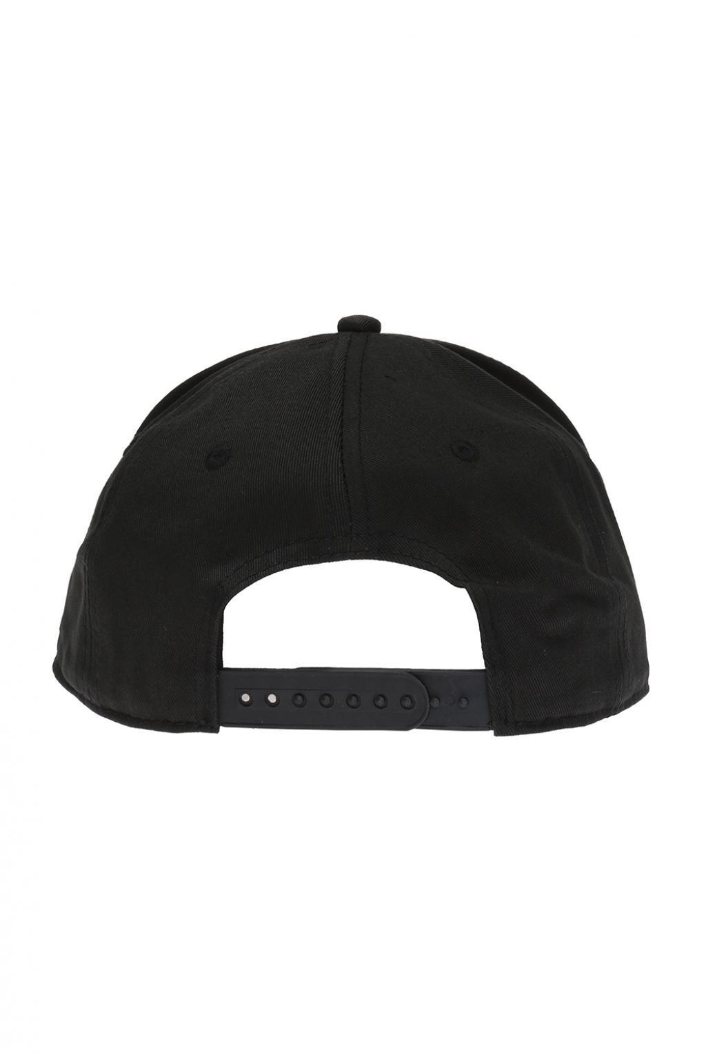 ffa1bf849 Lyst - Mcq Alexander Mcqueen Swallow Motif Baseball Cap in Black for Men