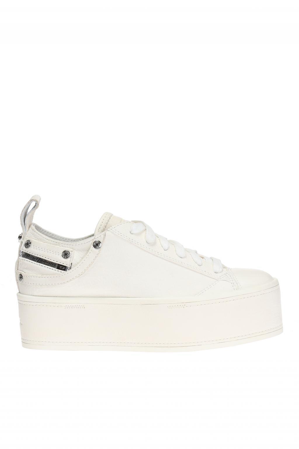 platform sneakers - White Diesel XVUm82Zy78