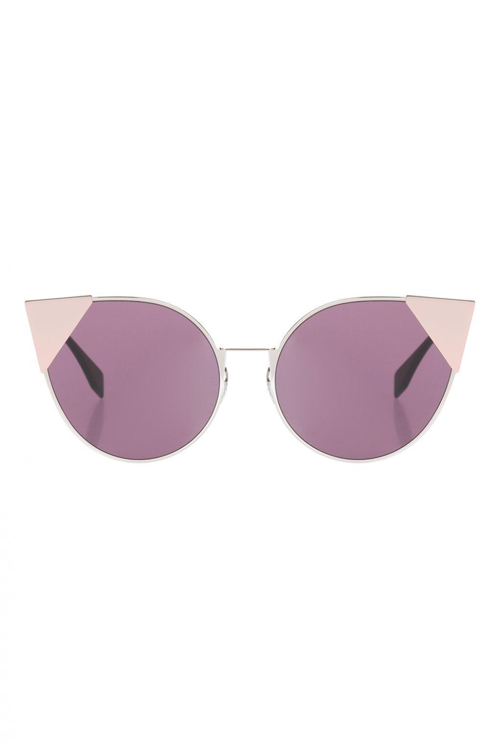 797f8db6a3b Lyst - Fendi  lei  Sunglasses in Purple