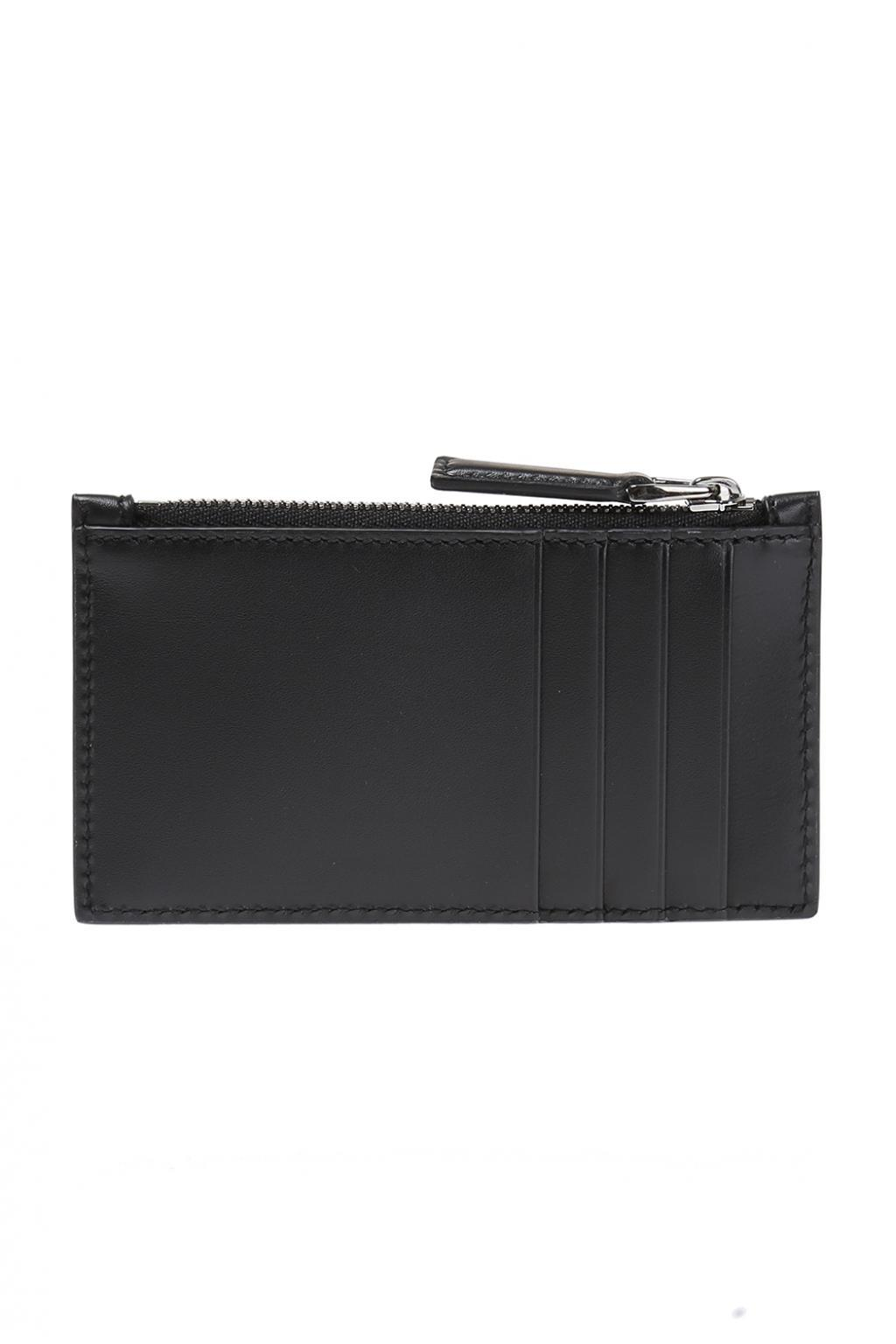 47793acfc20b58 Gucci Leather Card Case in Black for Men - Lyst
