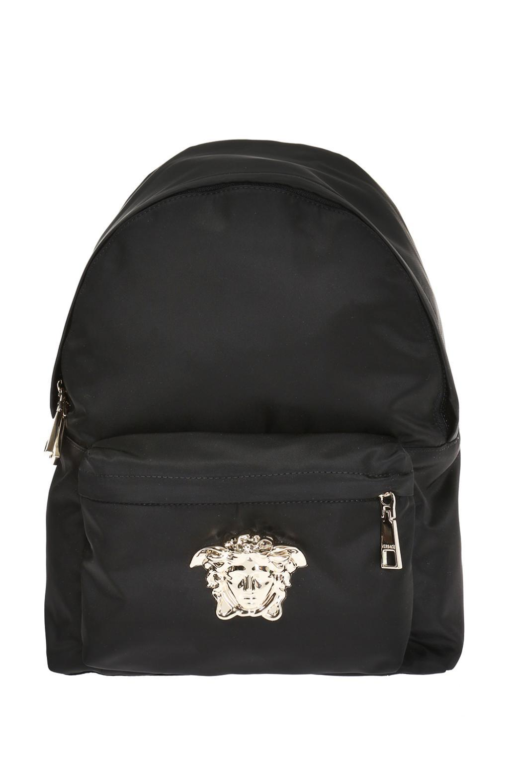 Versace Medusa Head Backpack in Black - Lyst 2fbf2ca9cf