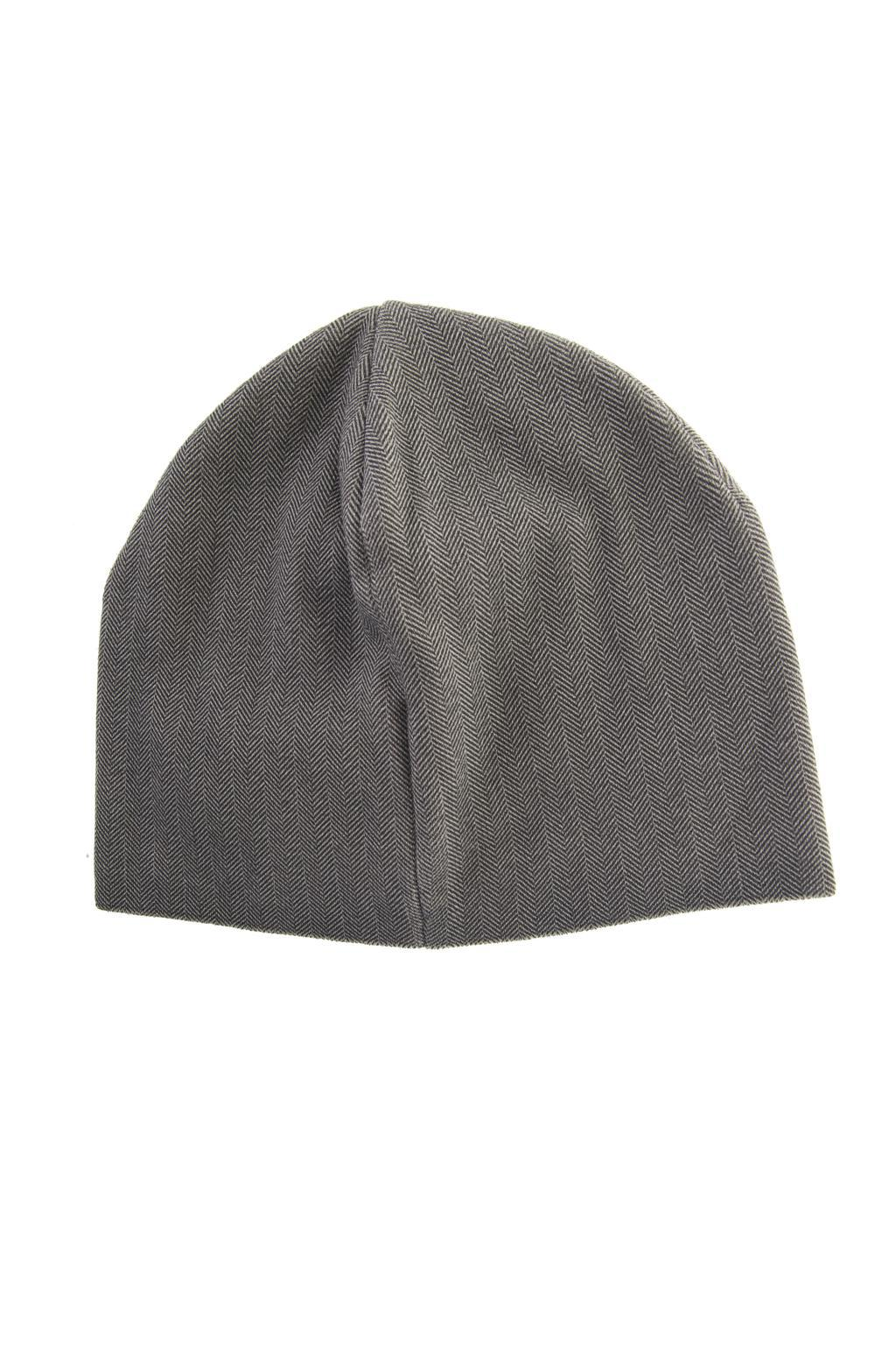 7d07aea1666 Emporio Armani - Gray Herringbone Pattern Hat for Men - Lyst. View  fullscreen