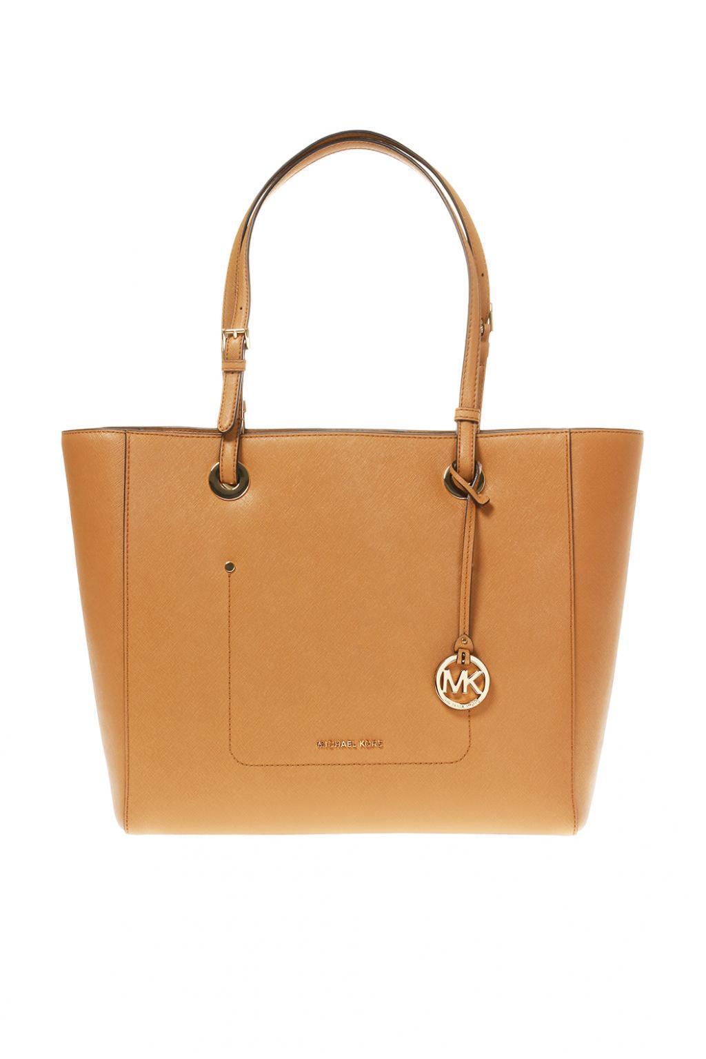 db6982298721 Michael Kors  walsh  Shopper Bag in Brown - Save 41% - Lyst