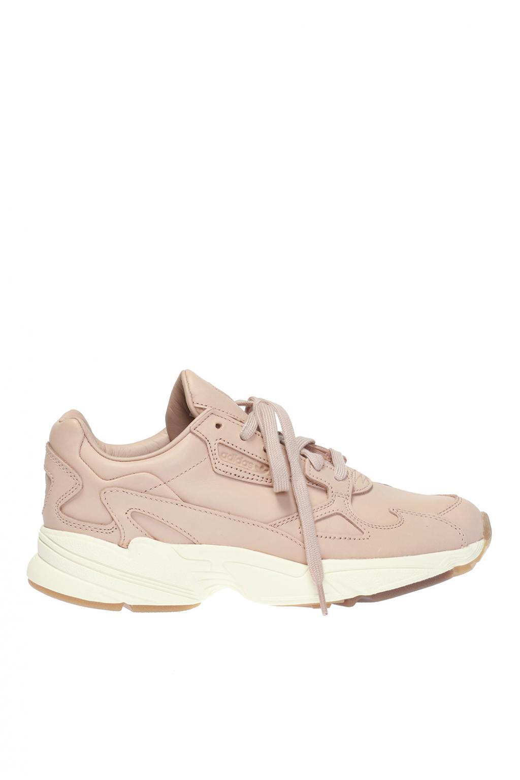 wholesale dealer 7b368 2a9e5 adidas Originals. Womens Pink falcon W Sneakers