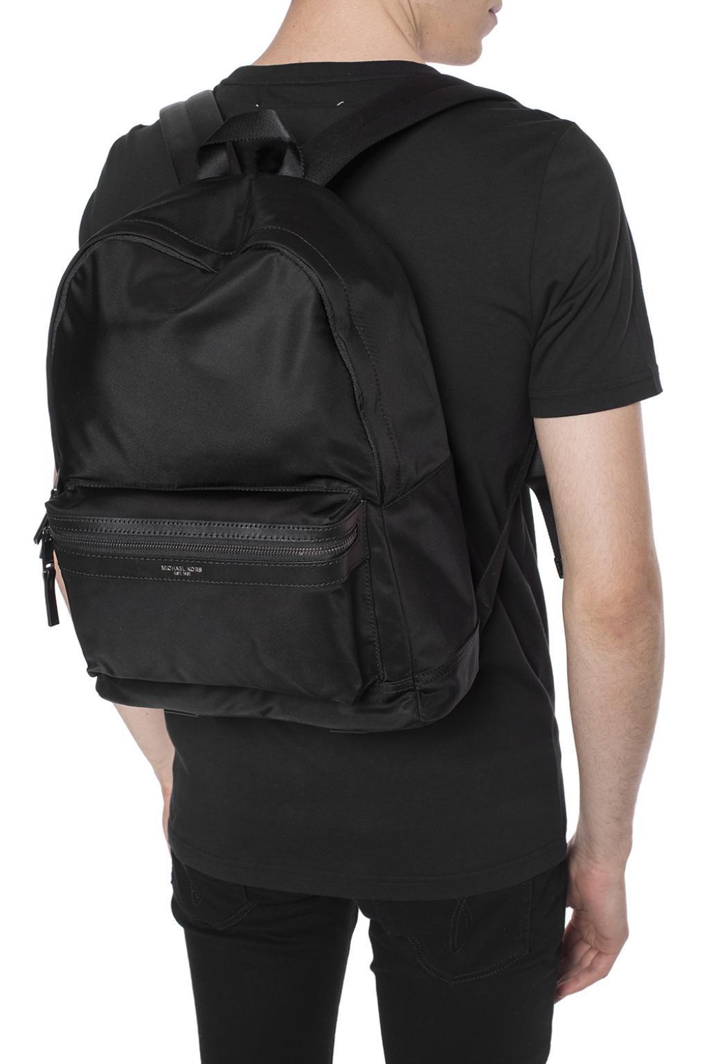 0e9b93fa83c4 Michael Kors - Black  kent  Backpack for Men - Lyst. View fullscreen