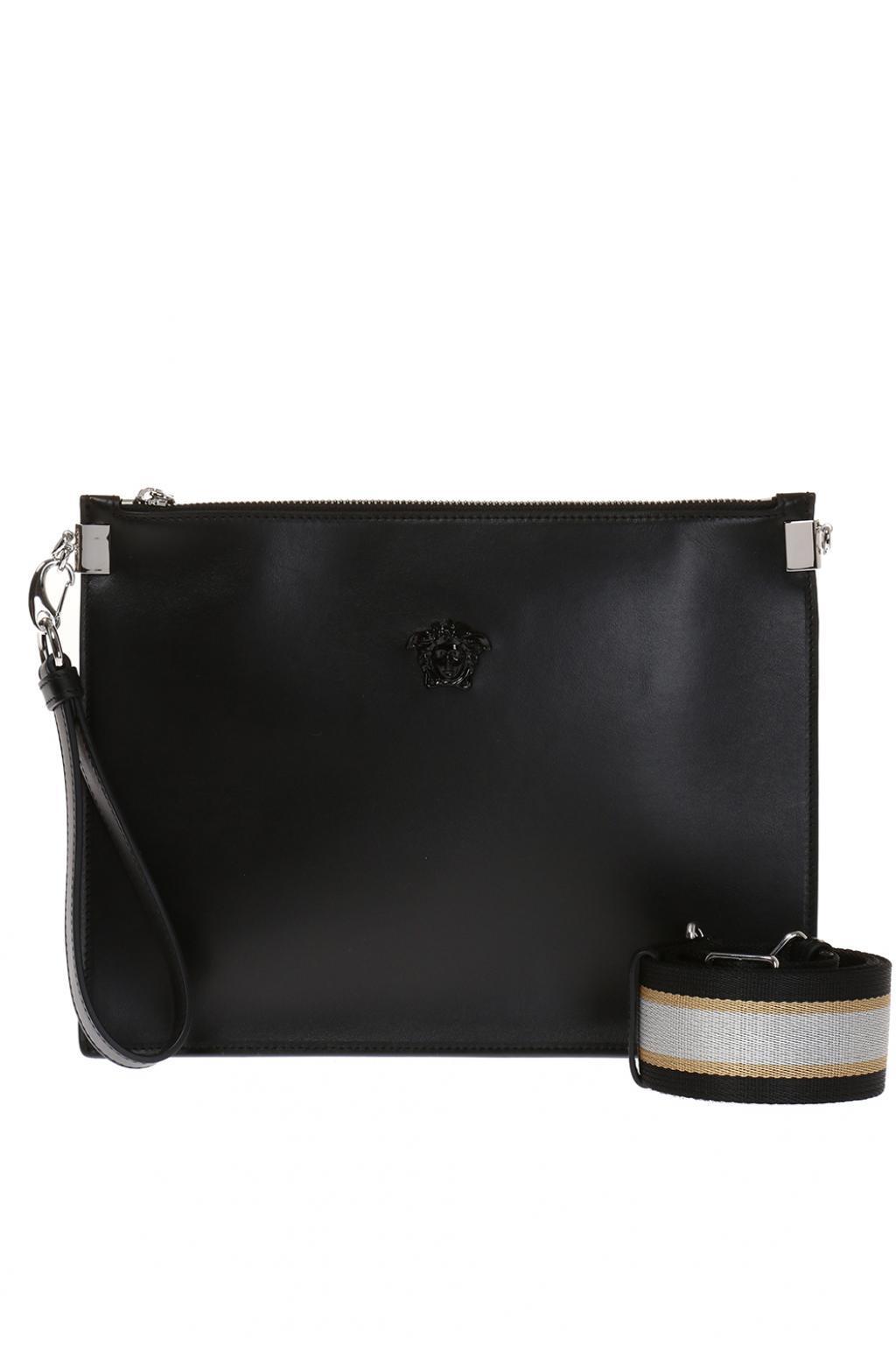 e907dd204bb1 Versace Medusa Head Shoulder Bag in Black - Lyst
