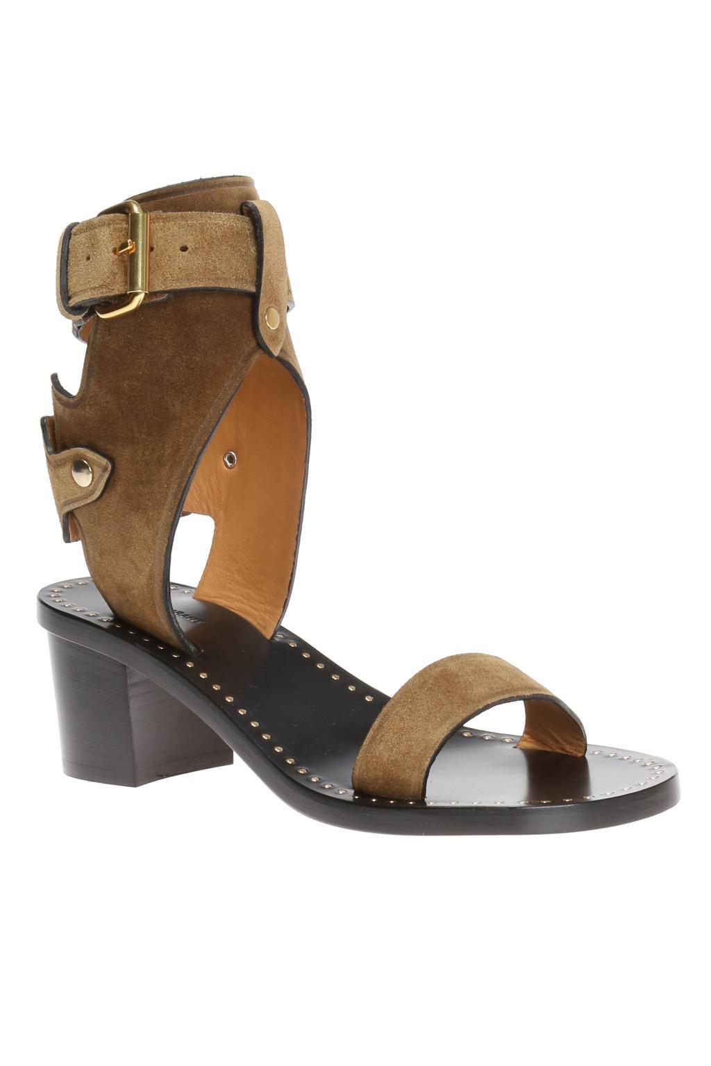 311f47c09d1 ... Brown  jaeryn  Heeled Sandals - Lyst. View fullscreen