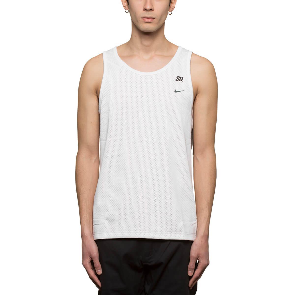 cb54bb79df242 Lyst - Nike Mesh Tank Top in White for Men