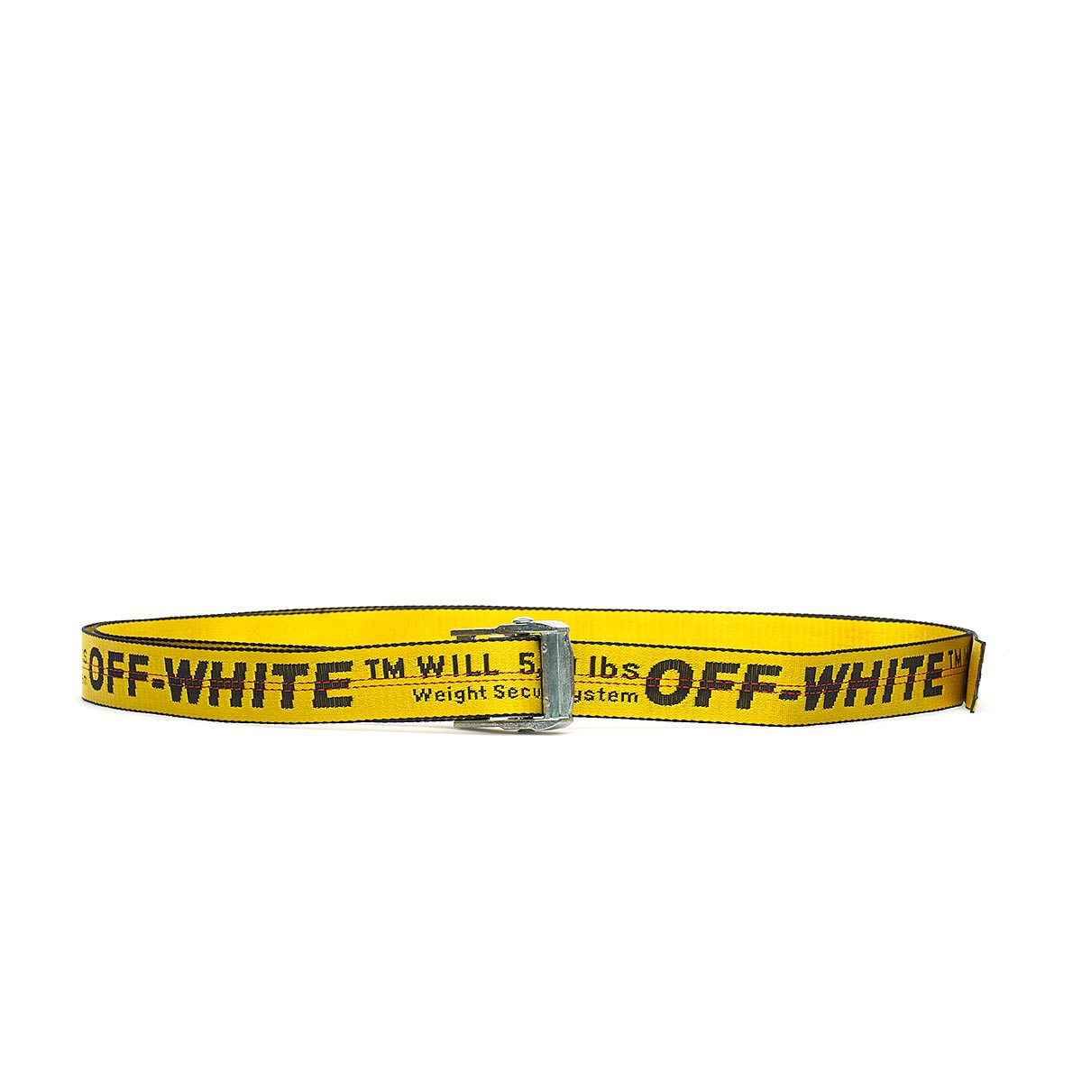 Lyst - Off-White c o Virgil Abloh Industrial Belt in Yellow for Men 6aad67e251d4