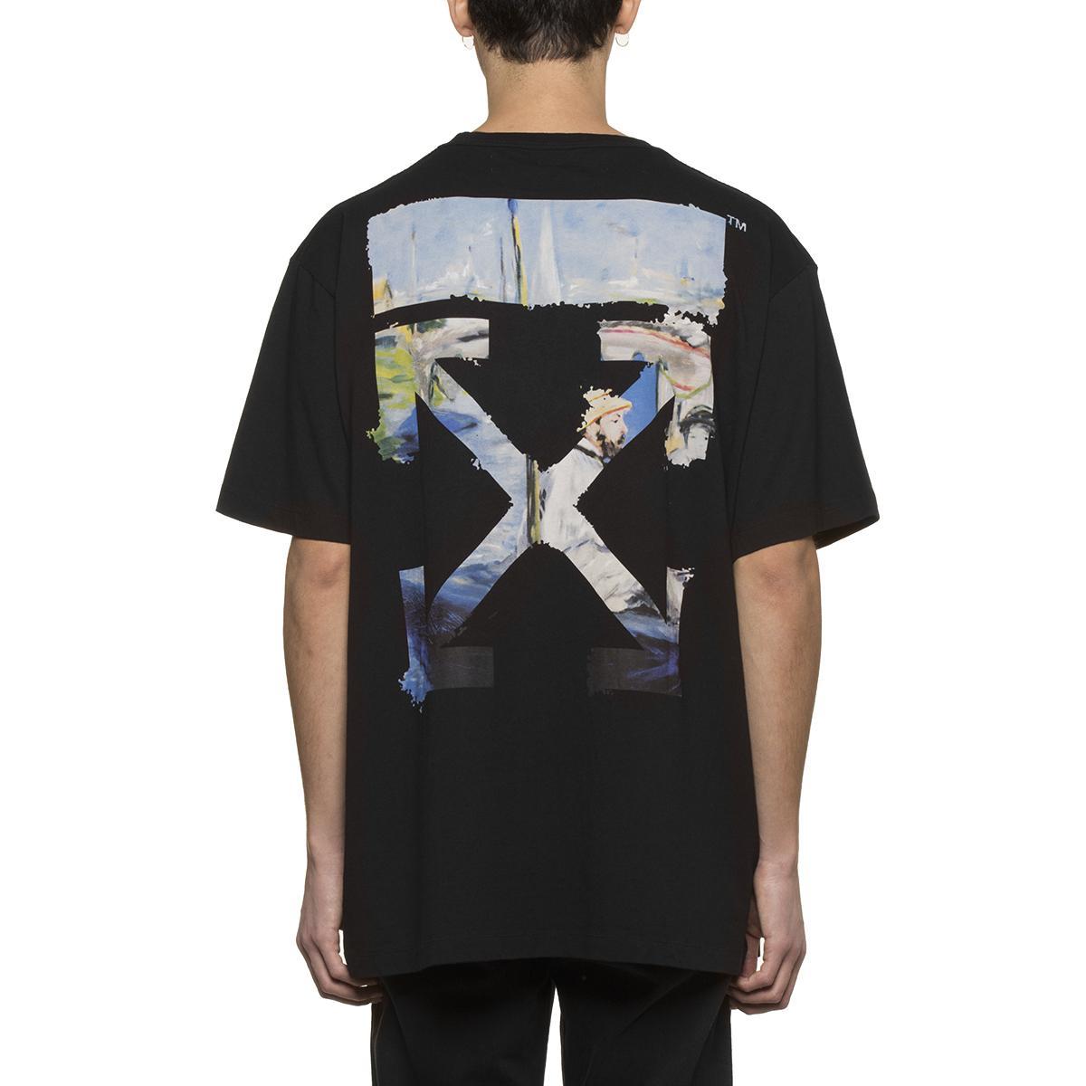 f74f44c8 Off-White c/o Virgil Abloh Colored Arrows T-shirt in Black for Men ...