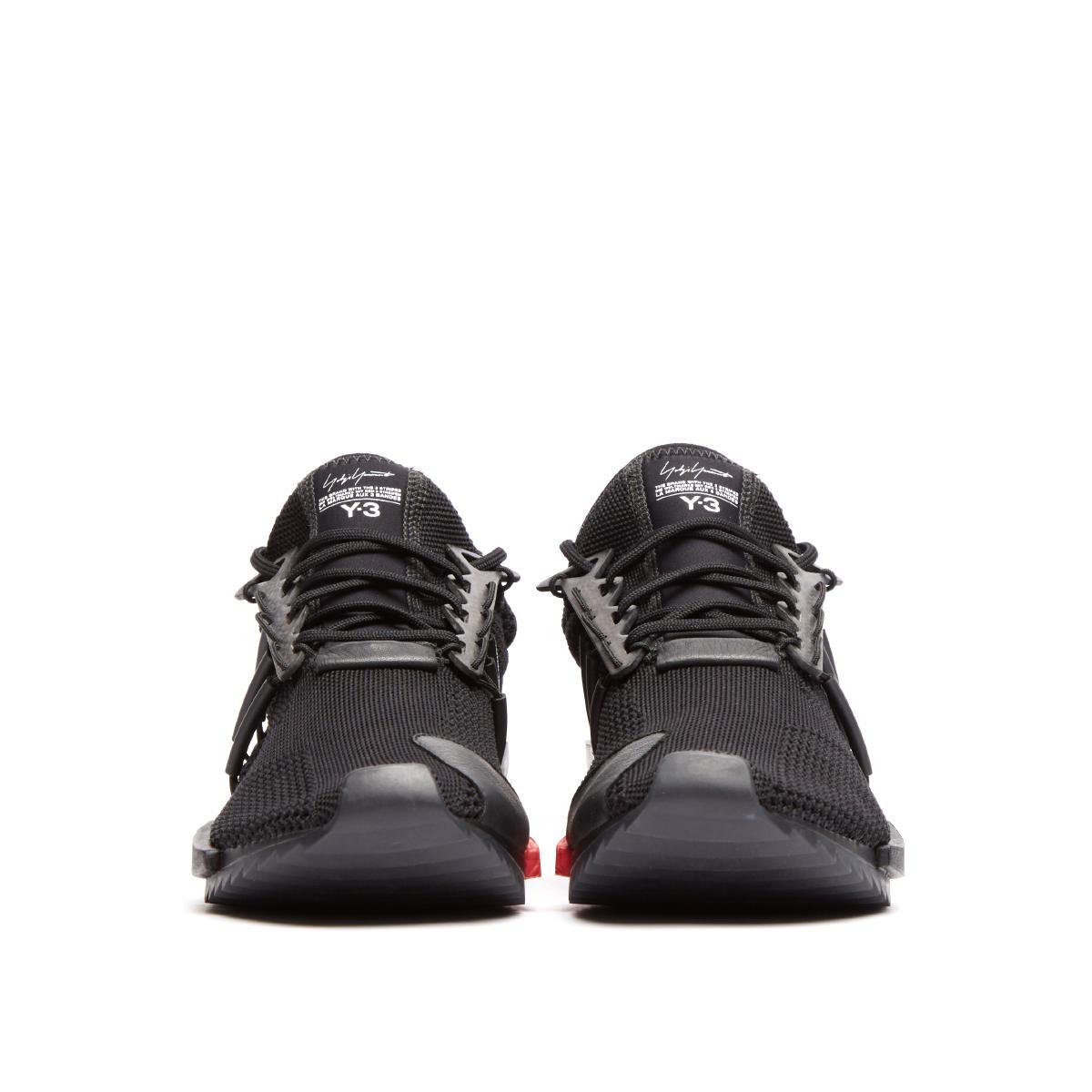 4fe5a3d01ebc5 Y-3 Harigane Sneakers in Black for Men - Lyst