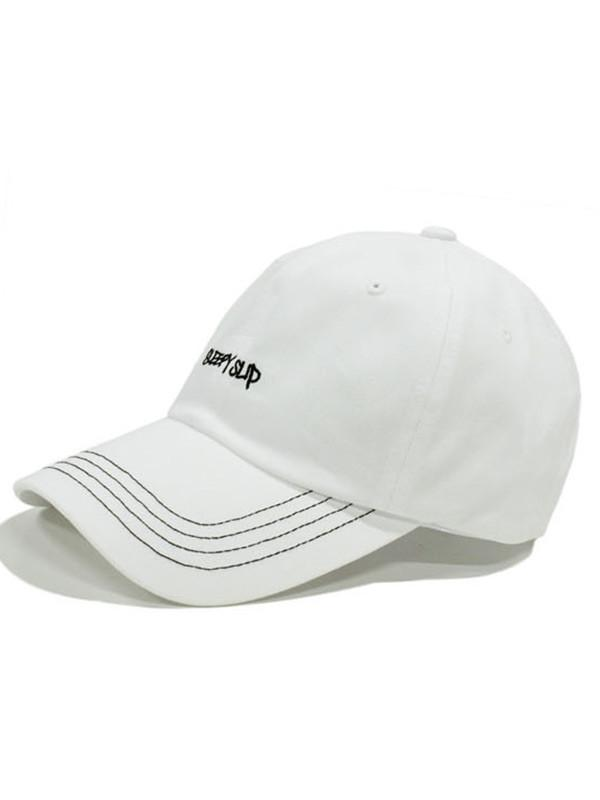 03586c4e97f SLEEPYSLIP -  unisex  Stitch White Ball Cap - Lyst. View fullscreen