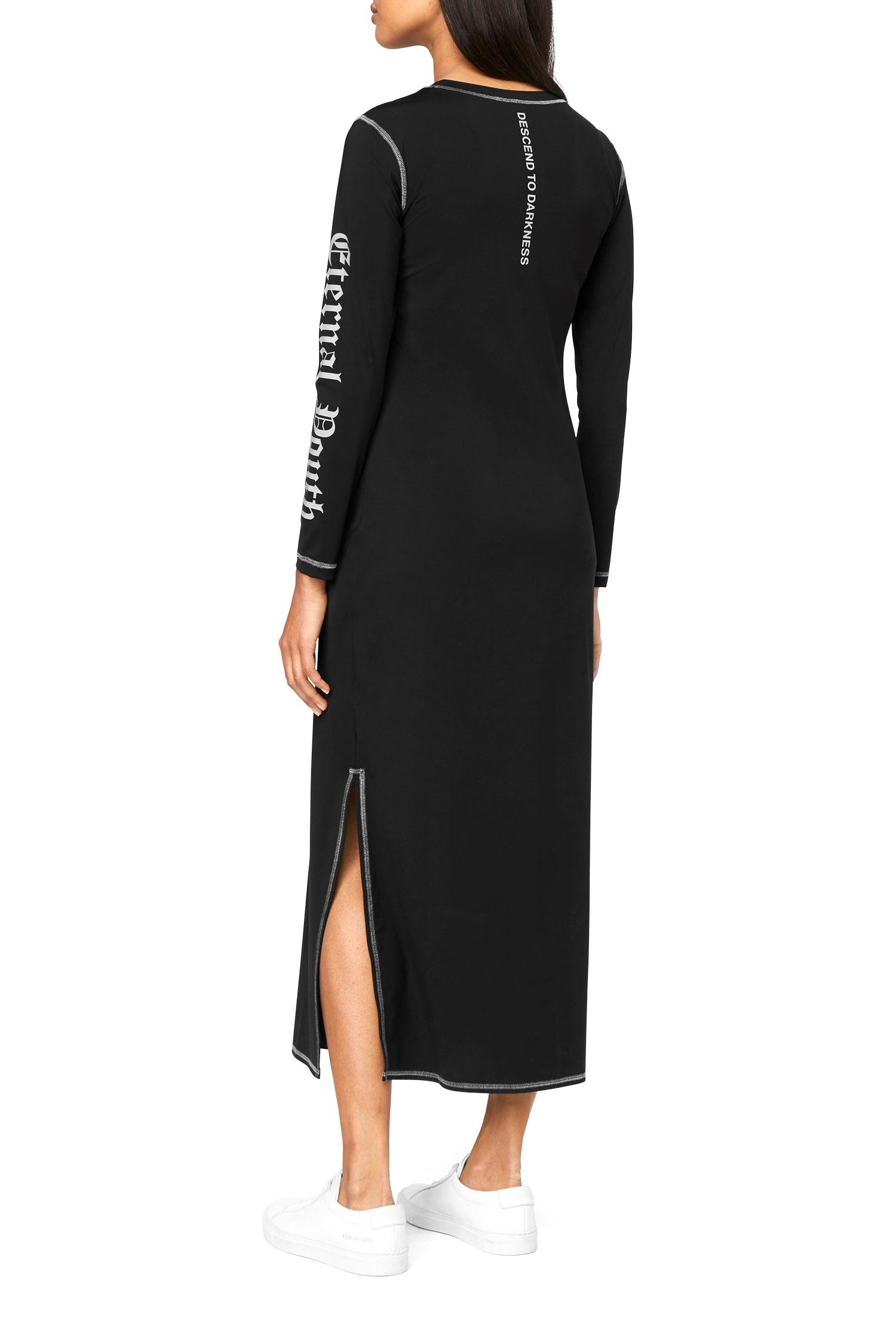 Clearance Online Fake Weekday Reflective Dress - Black Genuine Discount Visa Payment E4myco