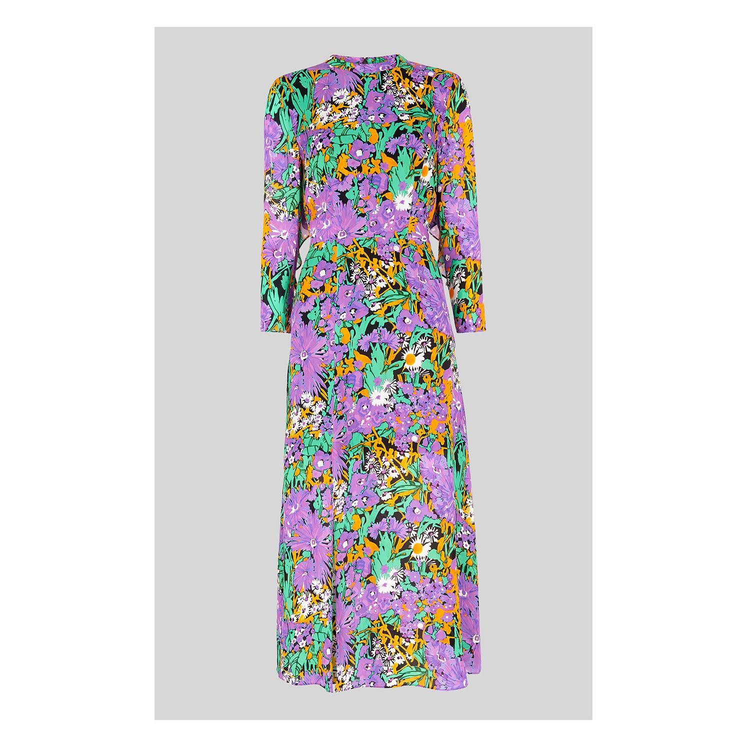 1dafd5d6a43 Whistles. Women s Simone Floral Print Midi Dress