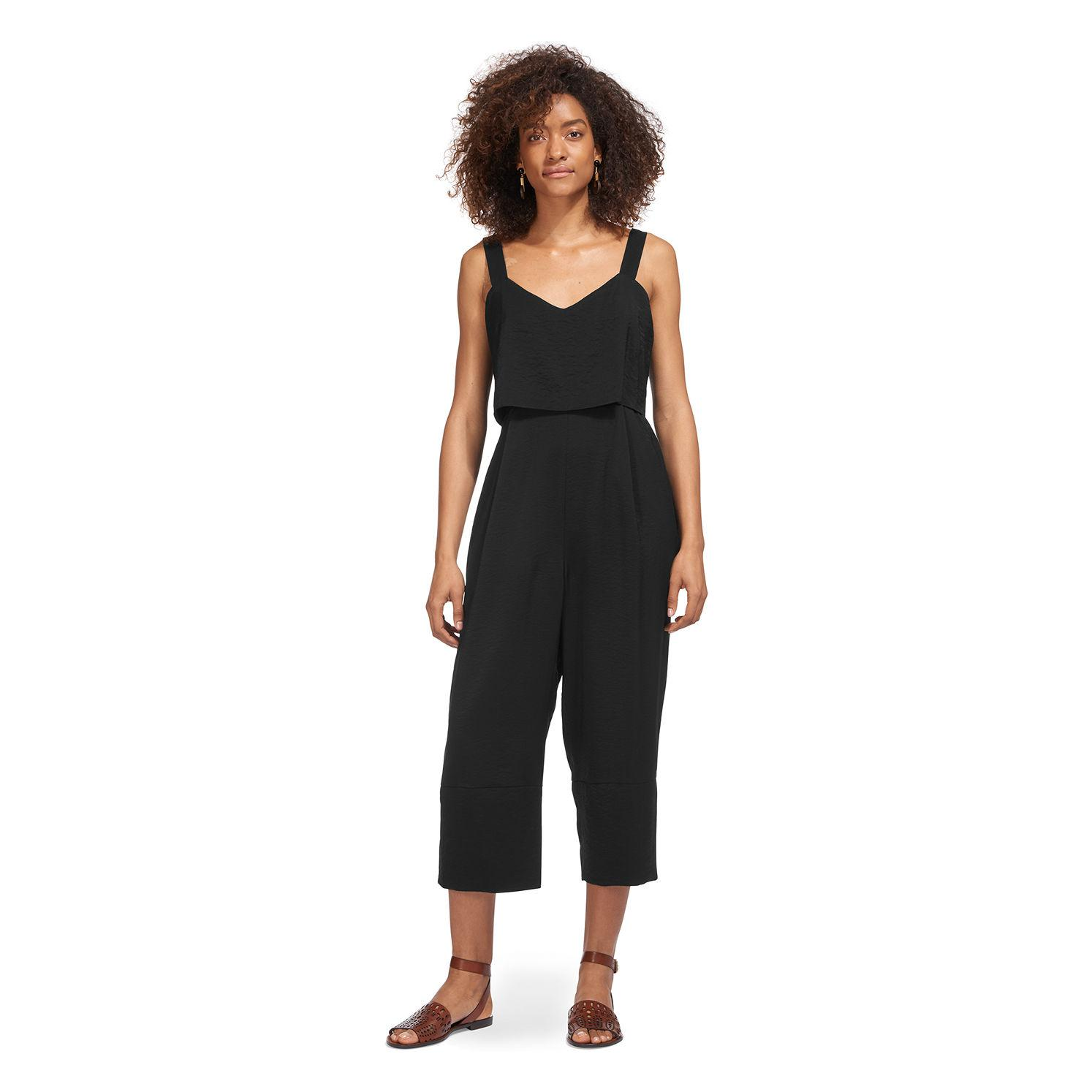b27ef8c85c6 Whistles - Black Lucy Strappy Jumpsuit - Lyst. View fullscreen