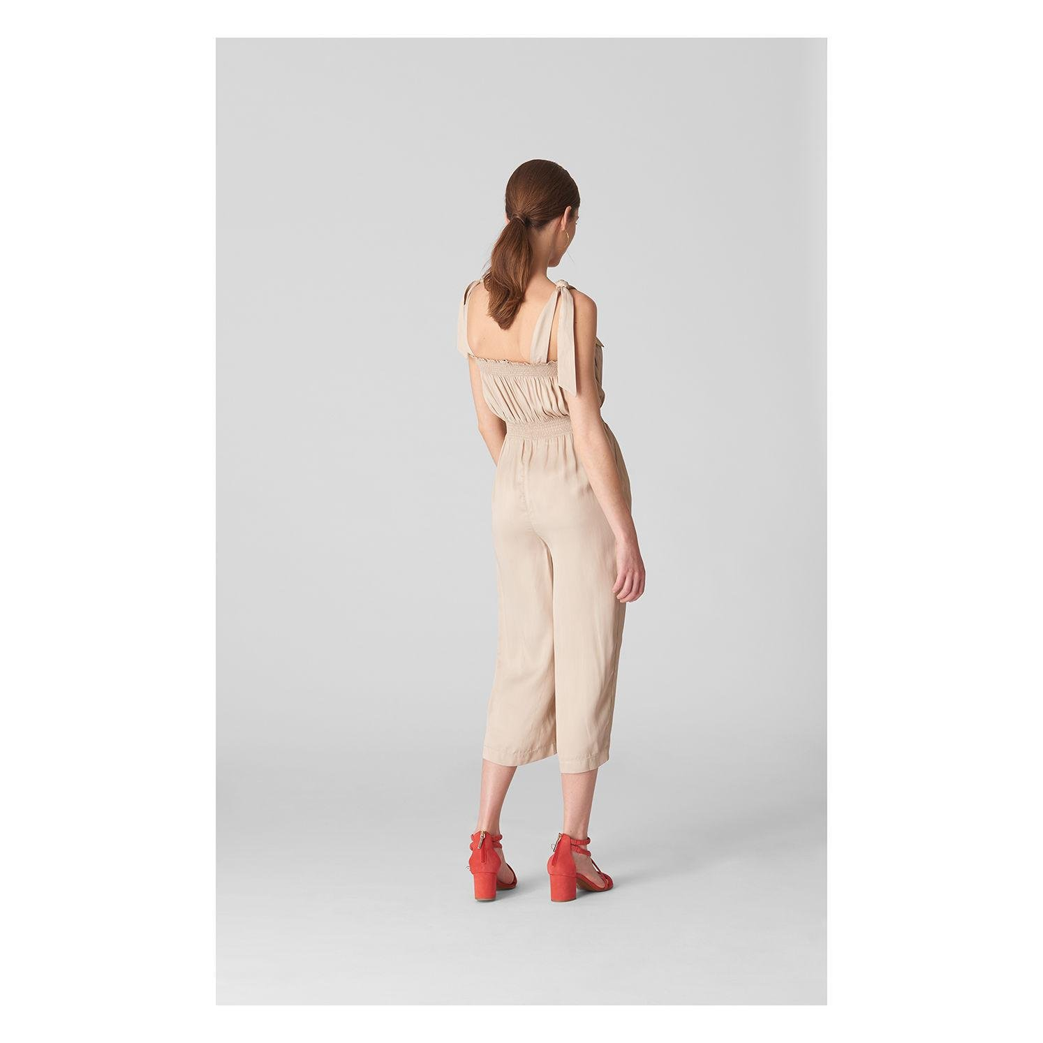 5d7a18f956c7 Whistles - Multicolor Ally Tie Shoulder Jumpsuit - Lyst. View fullscreen
