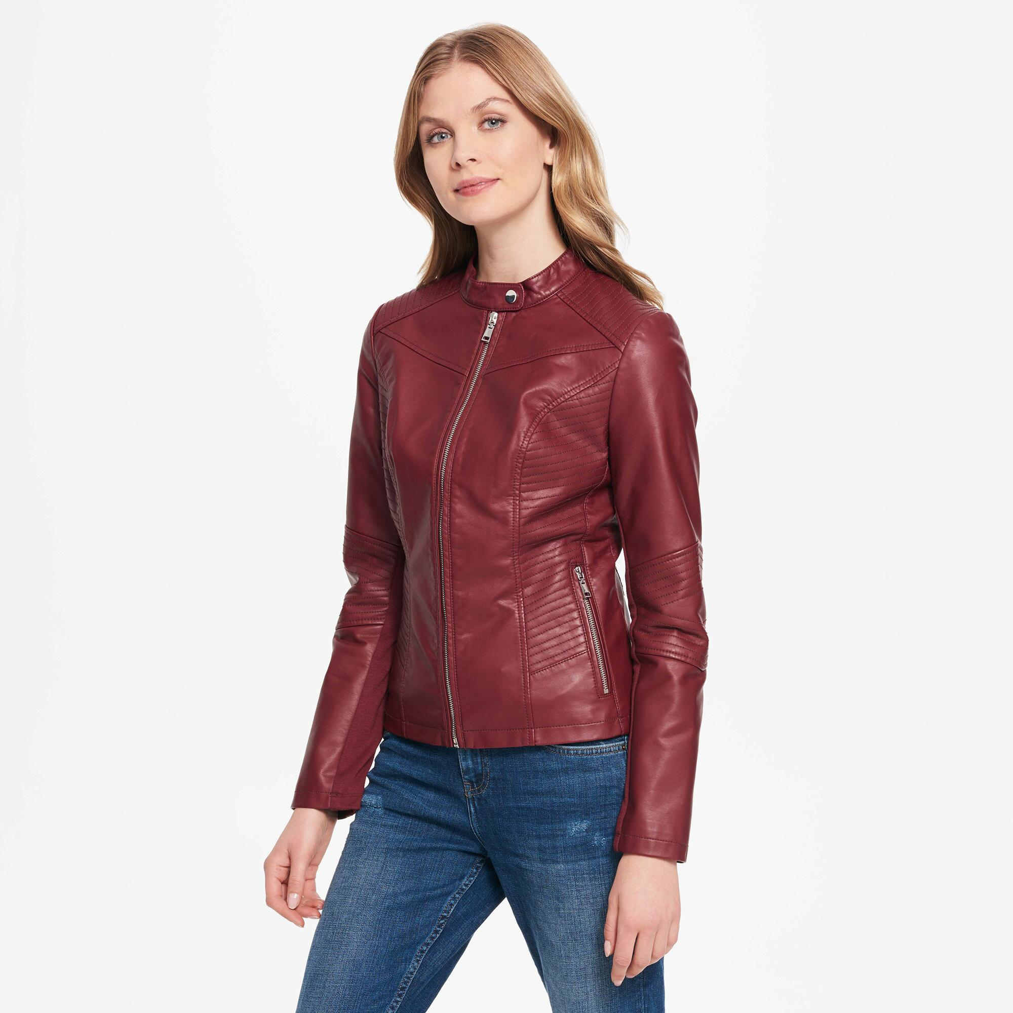 8b86008bc30 Gallery. Previously sold at  Wilsons Leather · Women s Satin Jackets ...