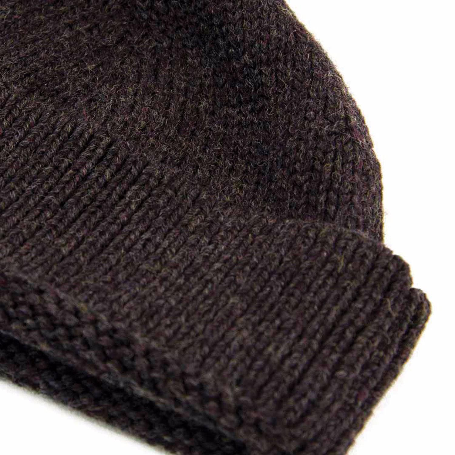 40 Colori Charcoal Solid Wool Fisherman Beanie in Gray for Men - Lyst a8594f673f0