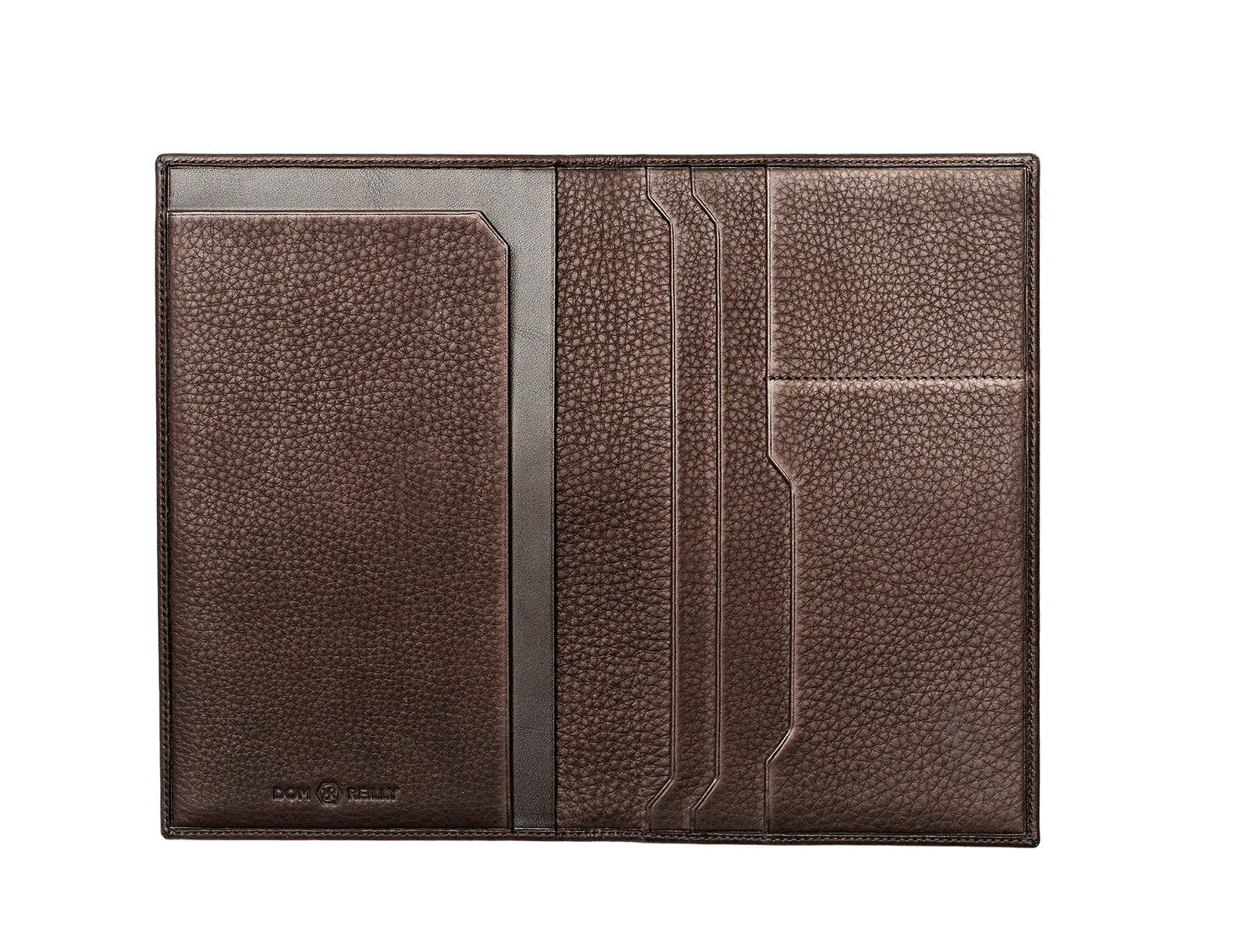 Lyst Dom Reilly The Travel Wallet Brown In Brown For Men