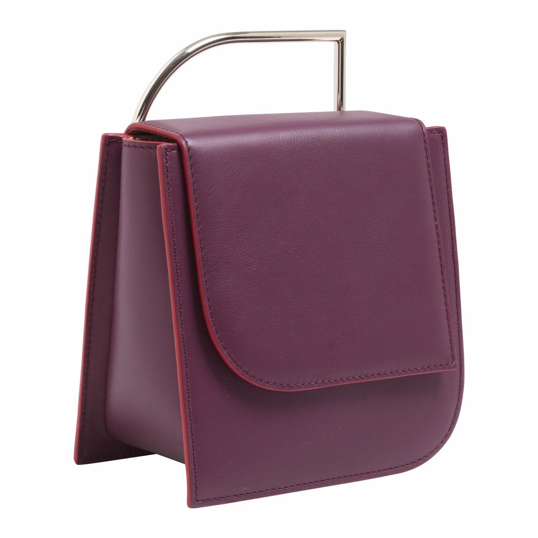 7223f7a0d306 Lautem - Purple Pascal Leather Bag Eggplant - Lyst. View fullscreen