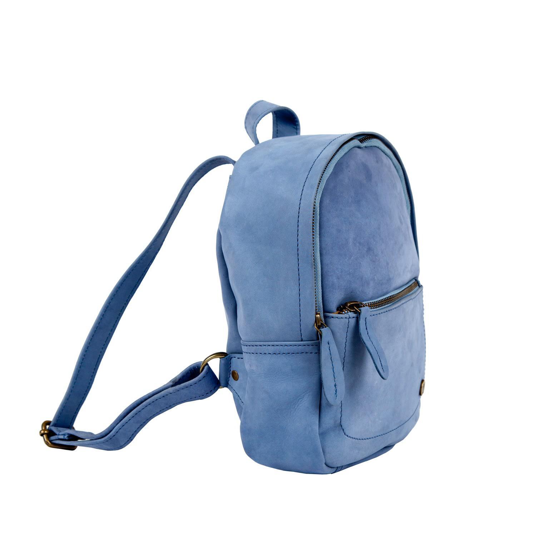 MAHI Leather - Mini Backpack In Pastel Blue Suede Leather - Lyst. View  fullscreen ef97c41f66e39