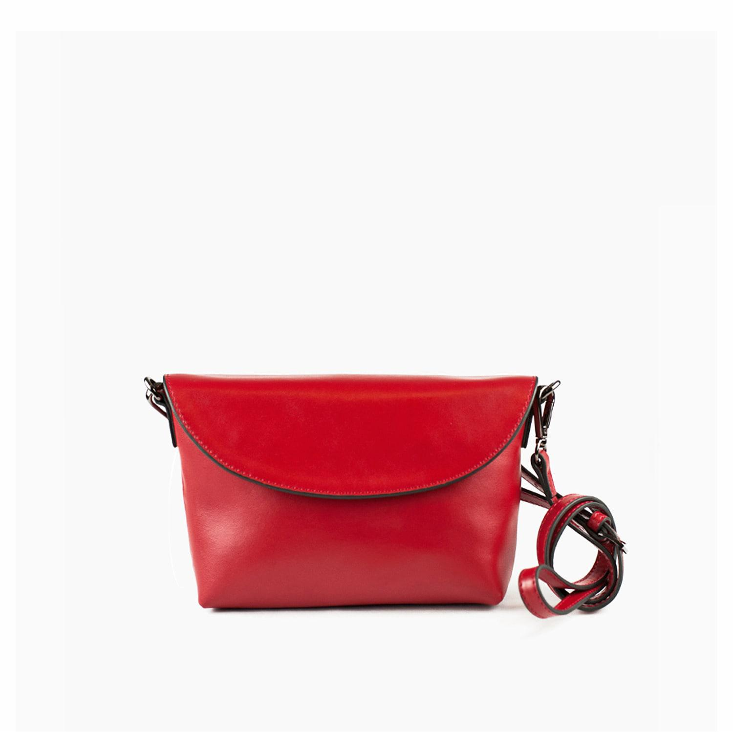 Lyst - Charlie Baker London Tokyo Red Crossbody   Clutch Bag in Red 0682b67be29e8