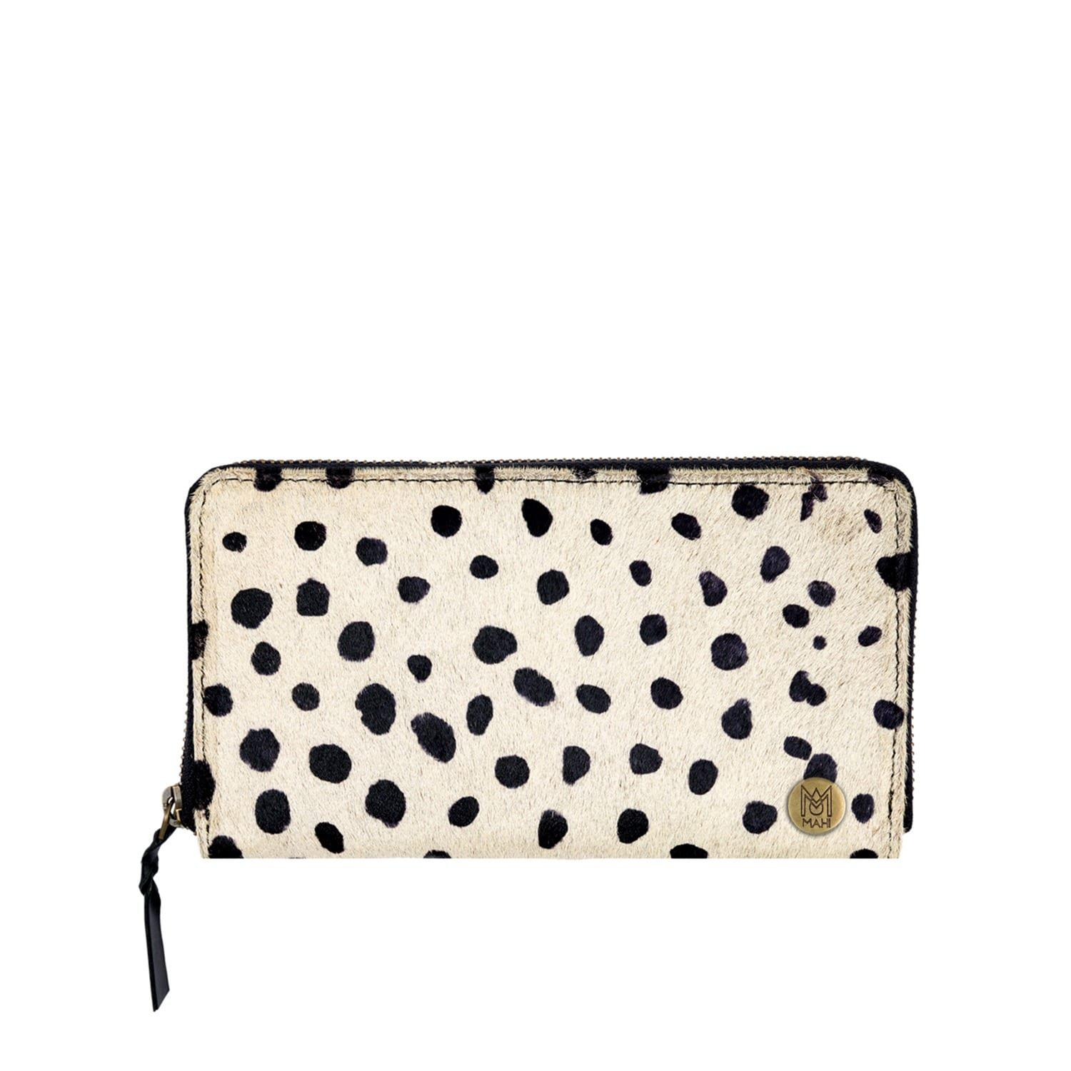 3de8f17c90a MAHI Leather - Multicolor Classic Ladies Purse In Spotty Print Pony Hair  Leather - Lyst