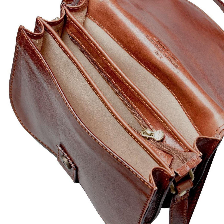 Maxwell Scott Bags Luxury Italian Leather Women S Saddlebag Purse Medium Medolla M Chocolate Brown