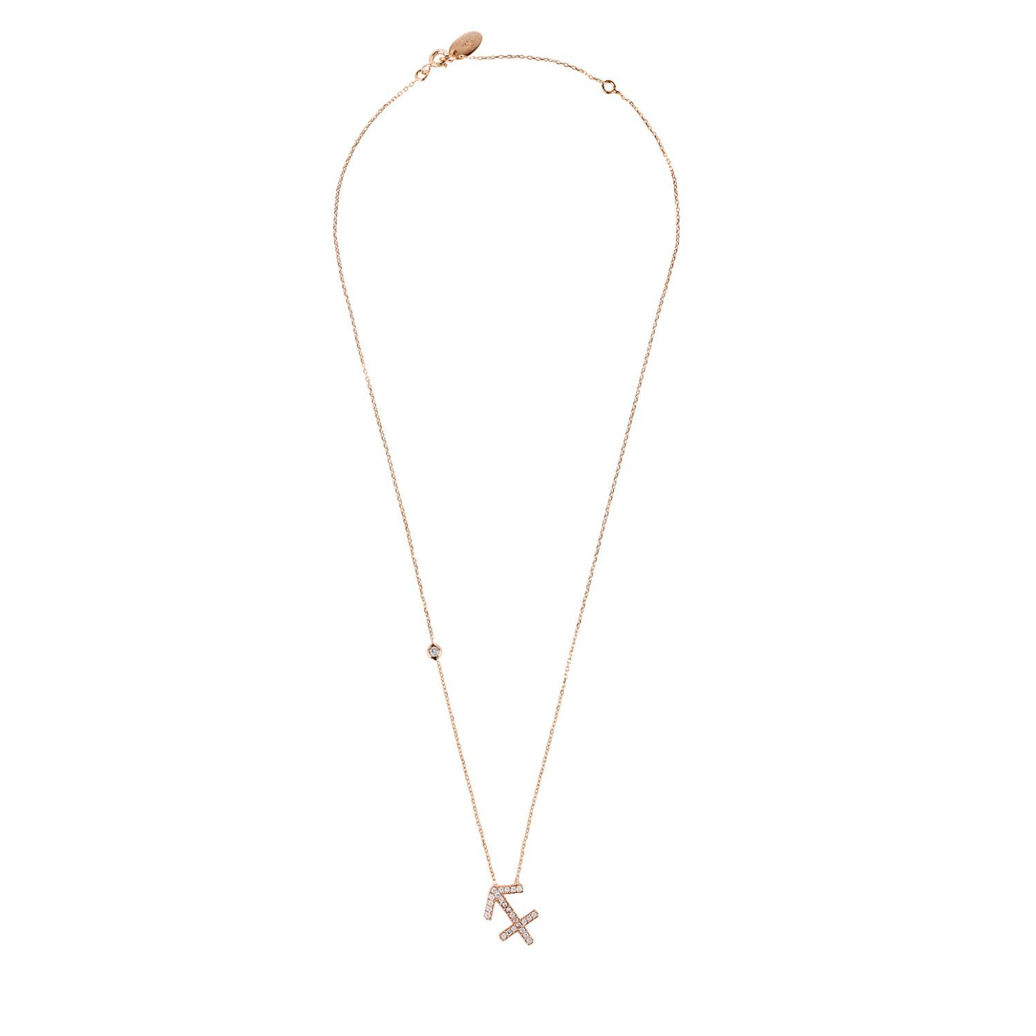 Latelita London Sagittarius Zodiac Necklace