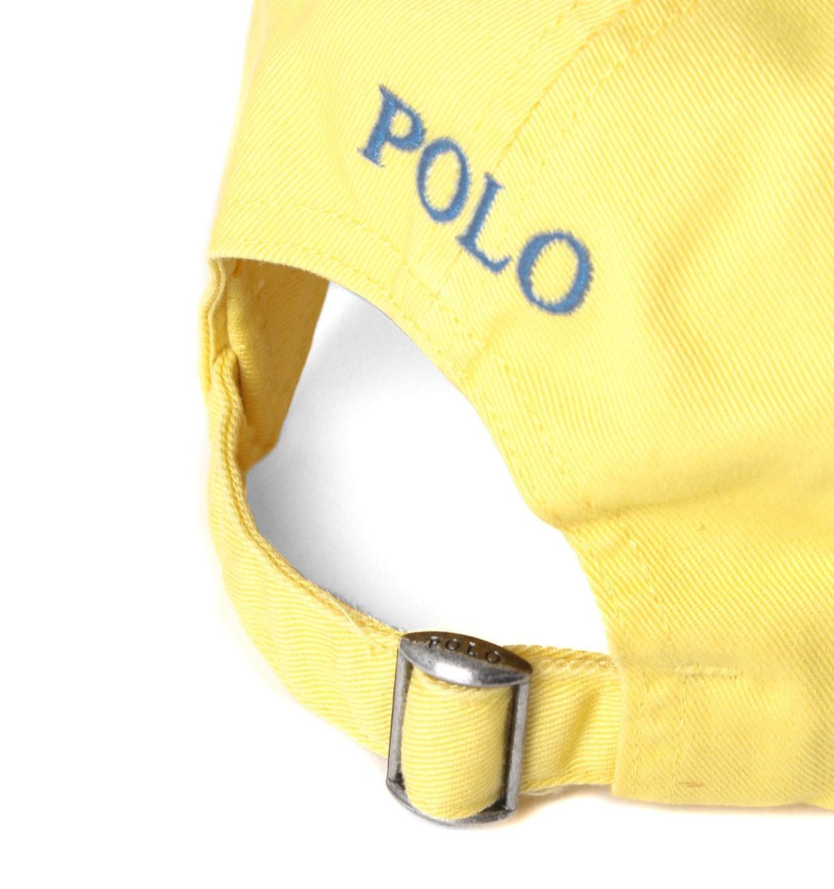 5c7c9576 Polo Ralph Lauren Lemon Yellow Classic Sport Cap in Yellow for Men ...