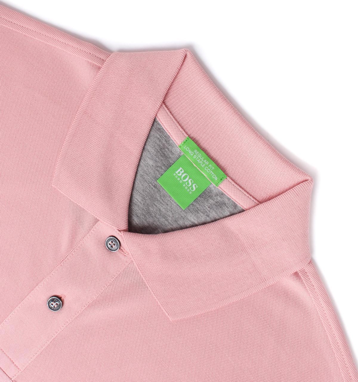 Lyst Boss Green C Firenze Pale Pink Staple Cotton Short Sleeve