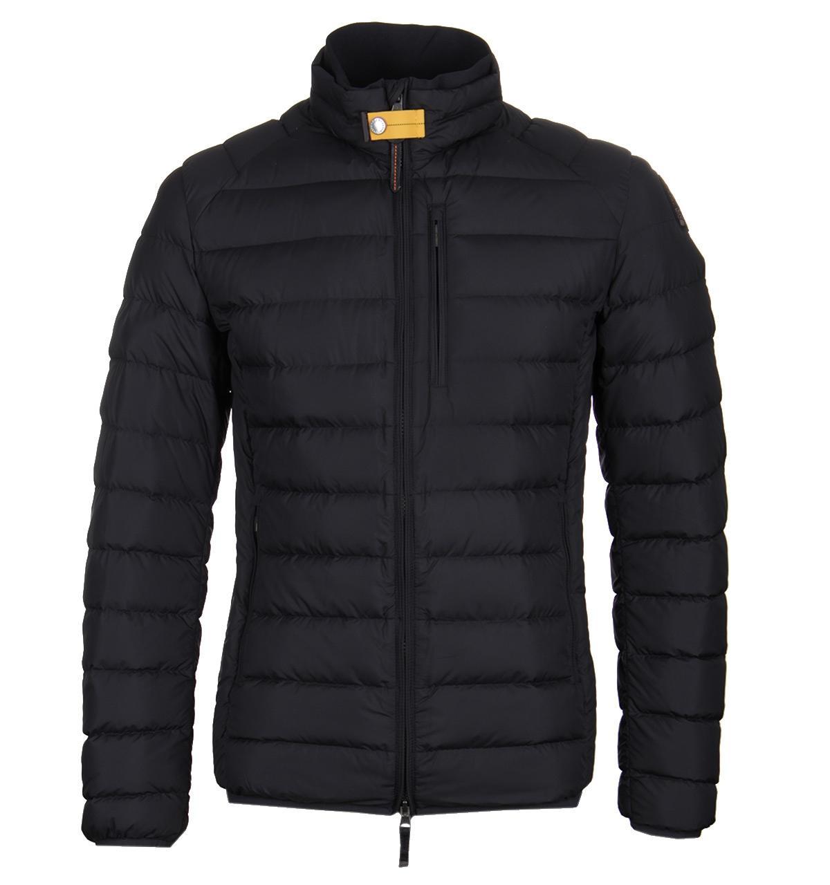 6cd0cc3f ... france parajumpers ugo black down jacket in black for men lyst f0336  cbec7