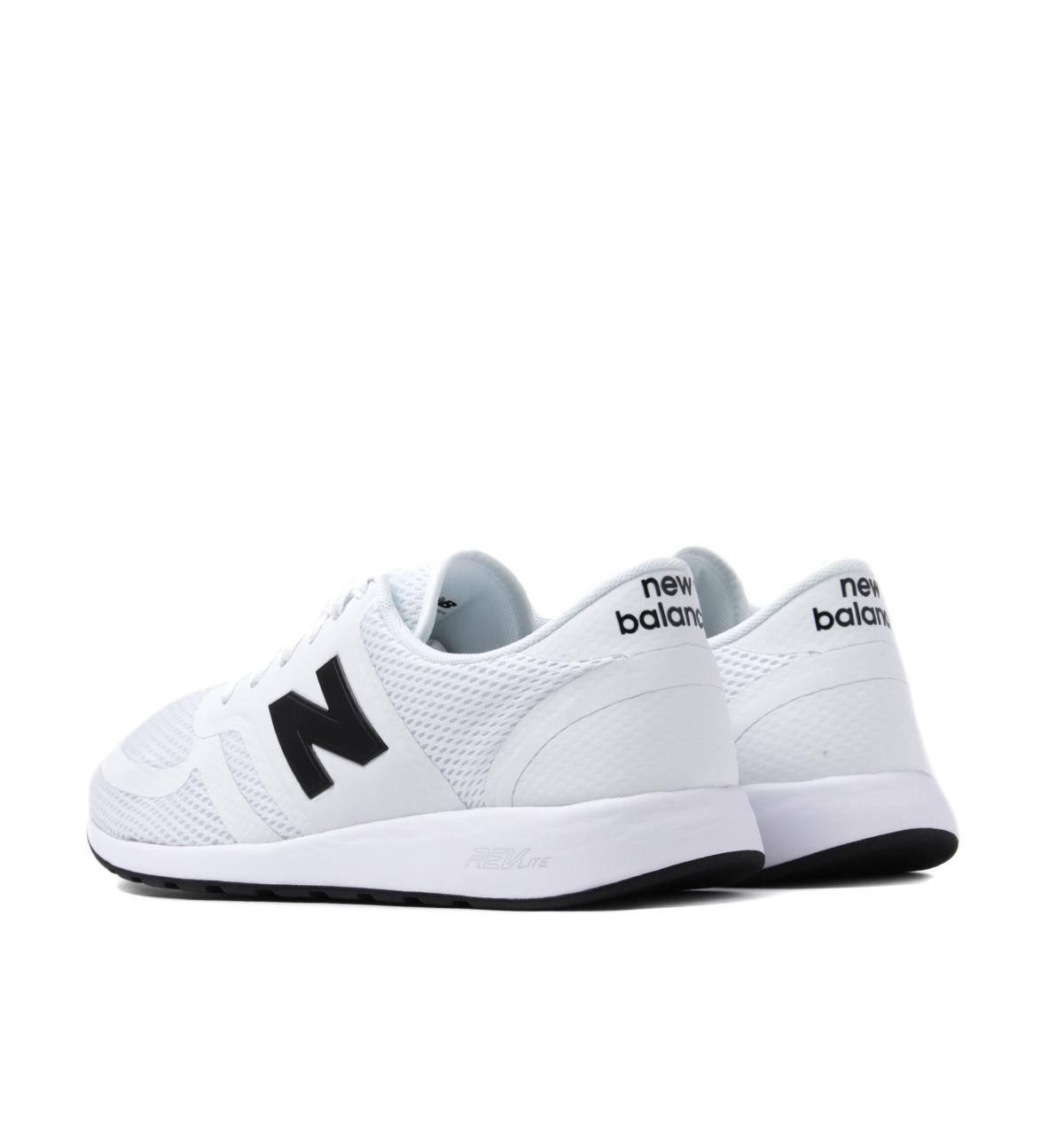 Lyst New Balance 420 White Mesh Trainers in White for Men