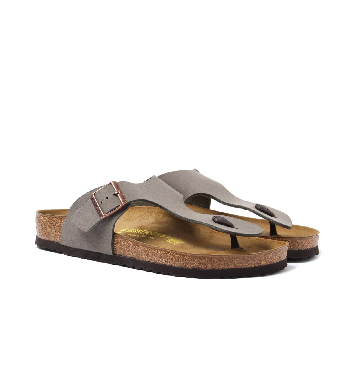 6b83c76e5e9 Birkenstock Ramses Stone Toe Strap Sandals in Brown - Save 7% - Lyst