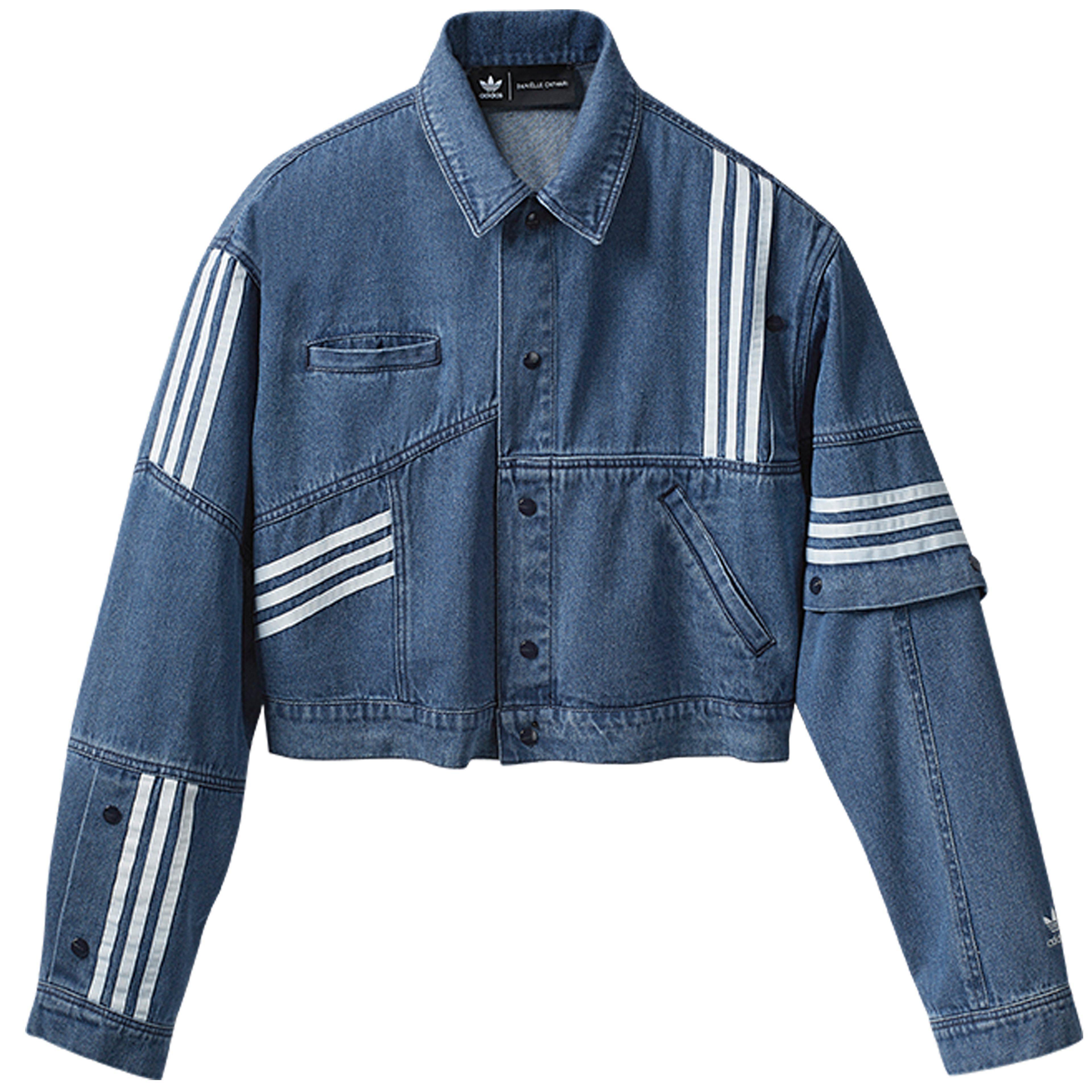 50b97df9a8 Lyst - adidas Danielle Cathari Collection Denim Jacket in Blue for Men