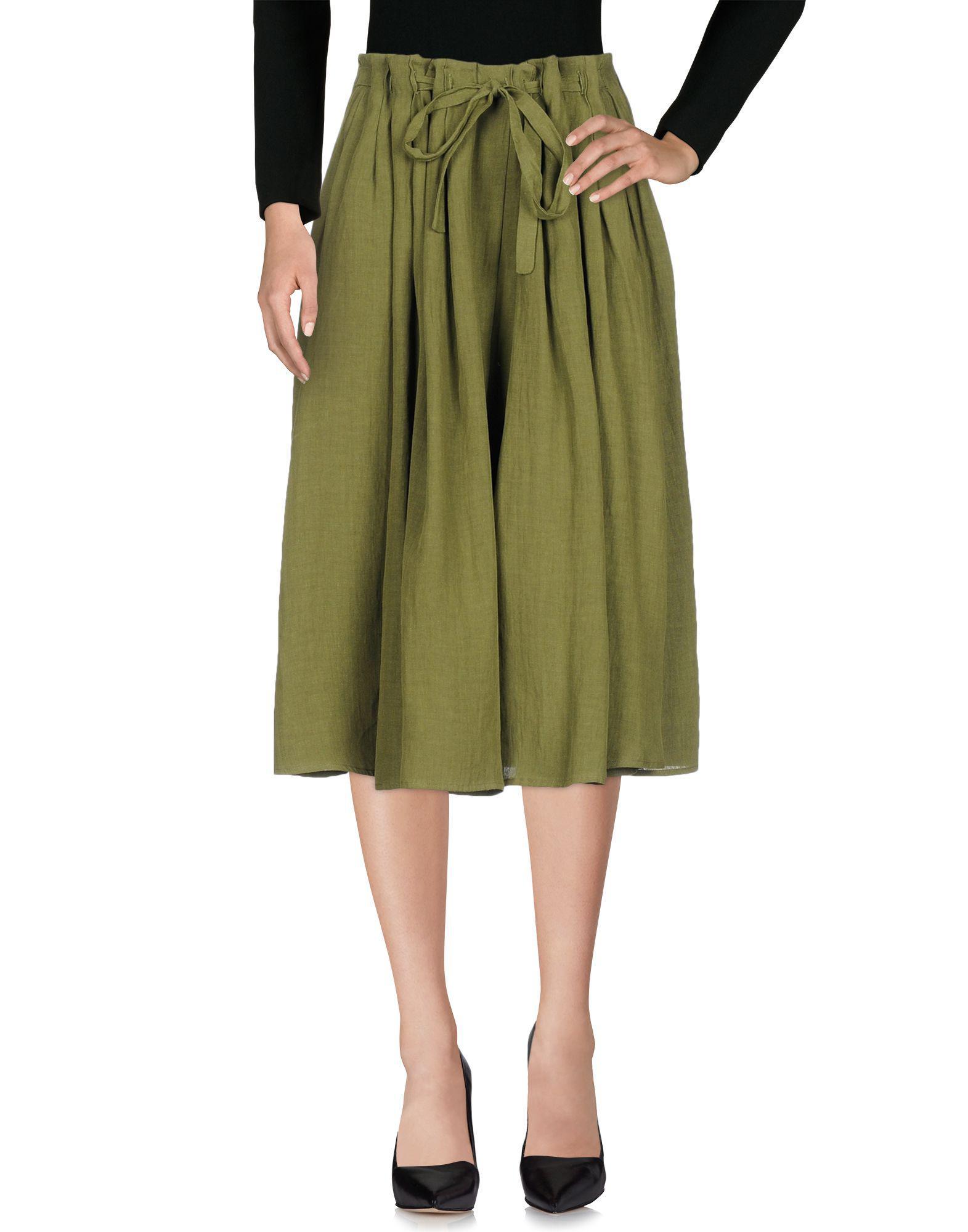 SKIRTS - 3/4 length skirts Apuntob TVCbFPM