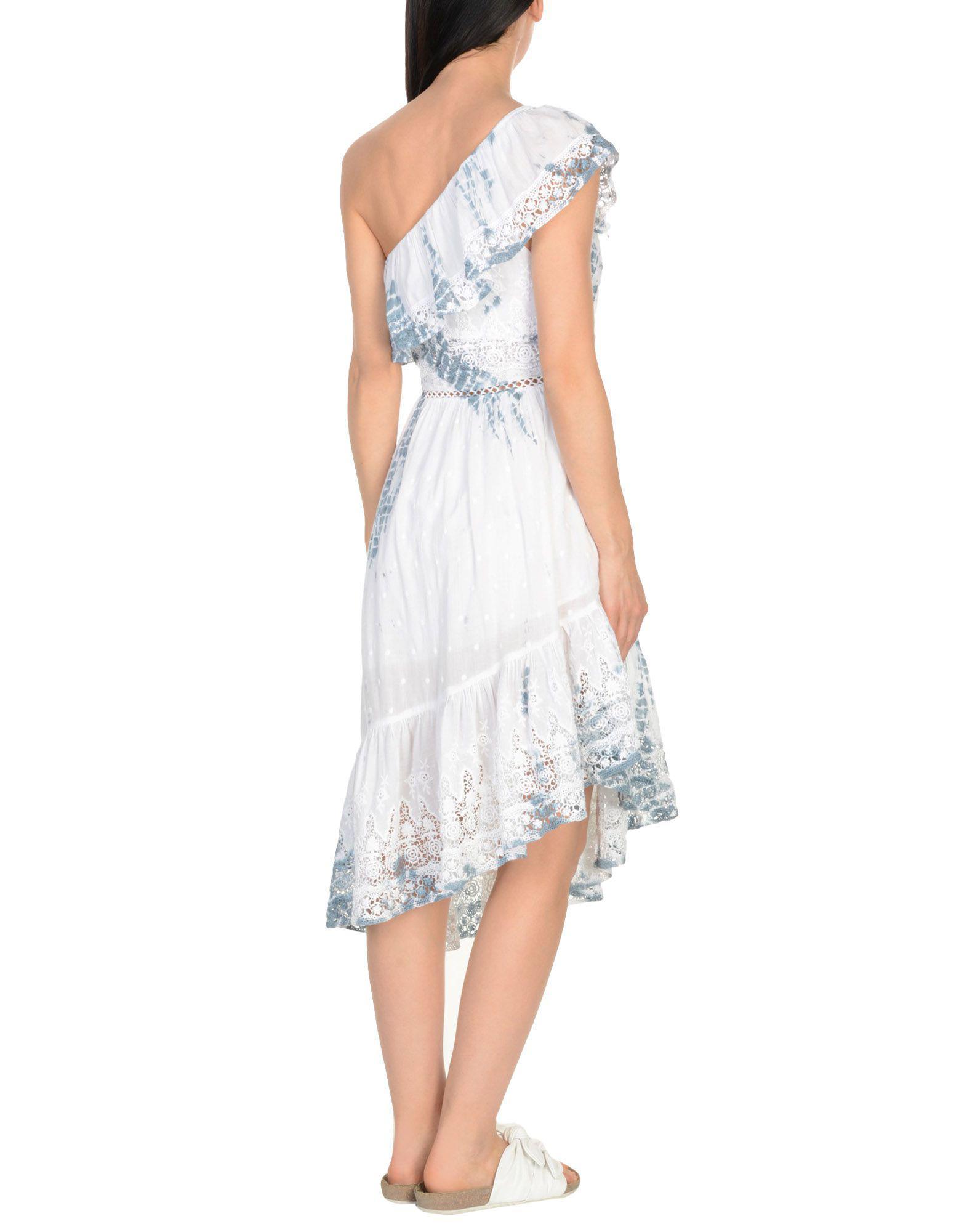32ae7621f9 LoveShackFancy Beach Dress in White - Lyst