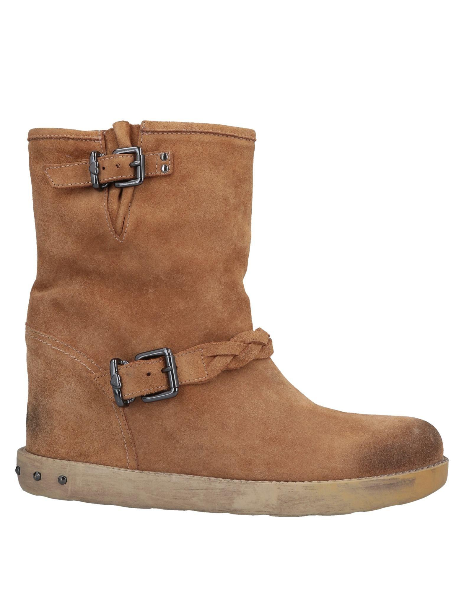 ec97e67a0cc2 Lyst - Twin Set Ankle Boots in Brown