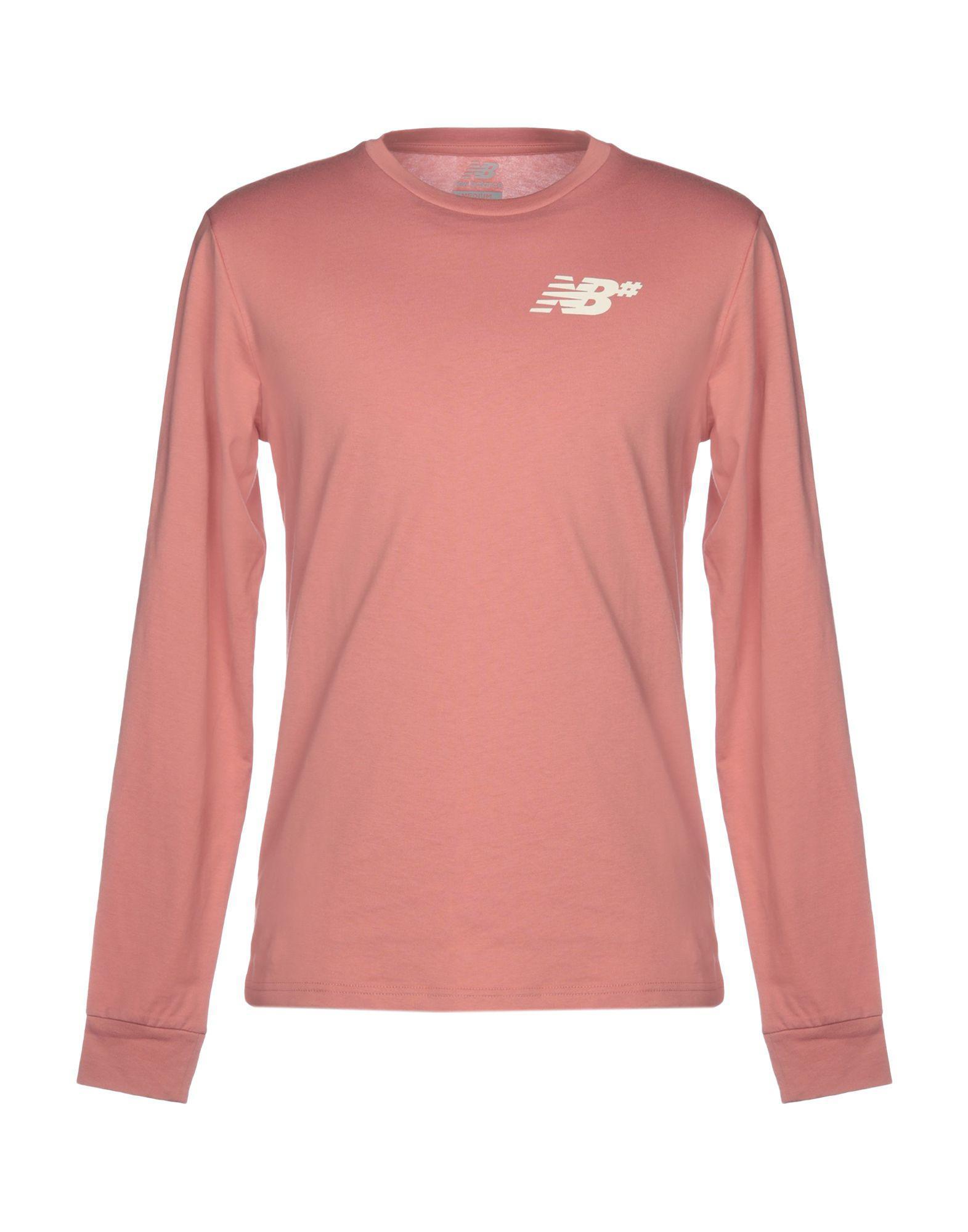 0f15c1ce7d93b T-shirt New Balance pour homme en coloris Rose - Lyst