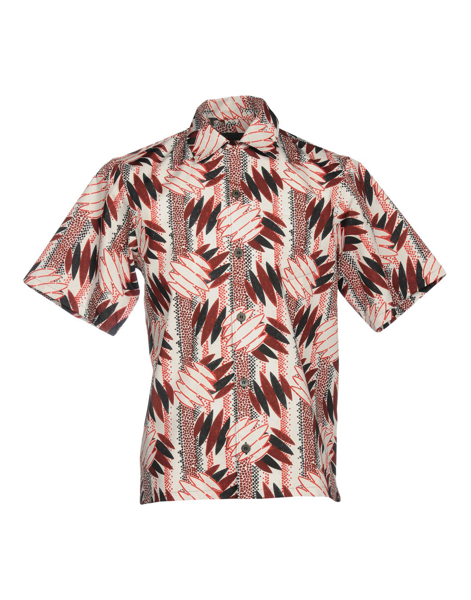 931f7e35a54d Lyst - Prada Shirt in Pink for Men - Save 50%