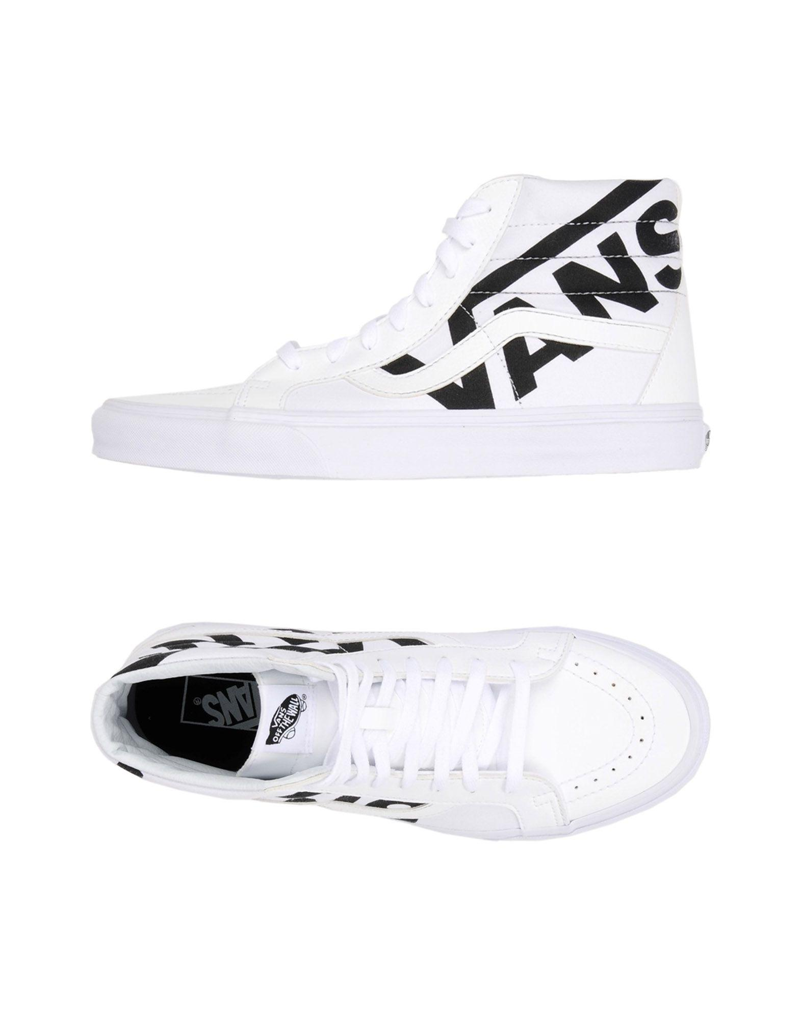 cfdf99e5ddeb82 Vans High-tops   Sneakers in White for Men - Save 8% - Lyst