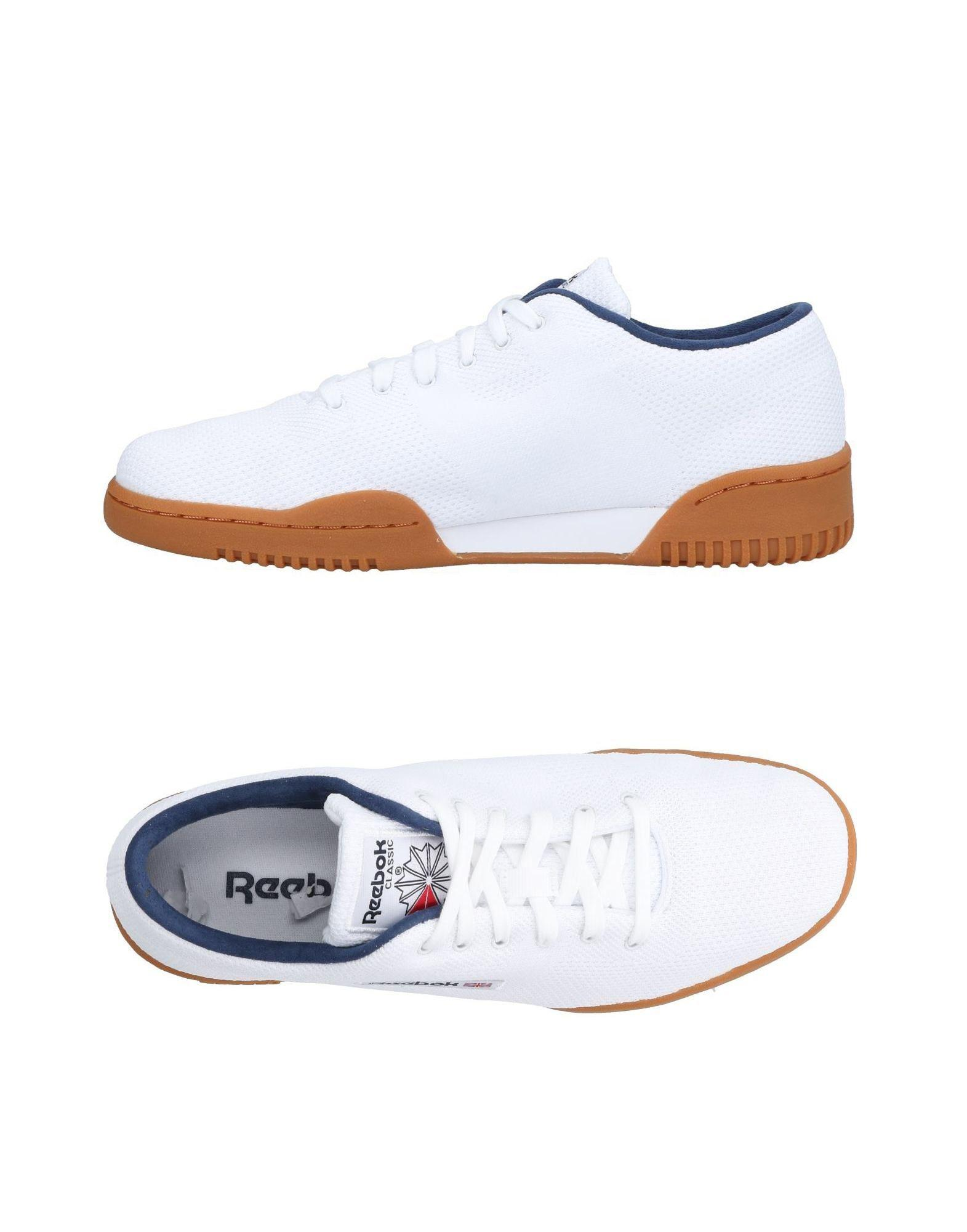 Lyst - Reebok Low-tops   Sneakers in White for Men fa9e33588