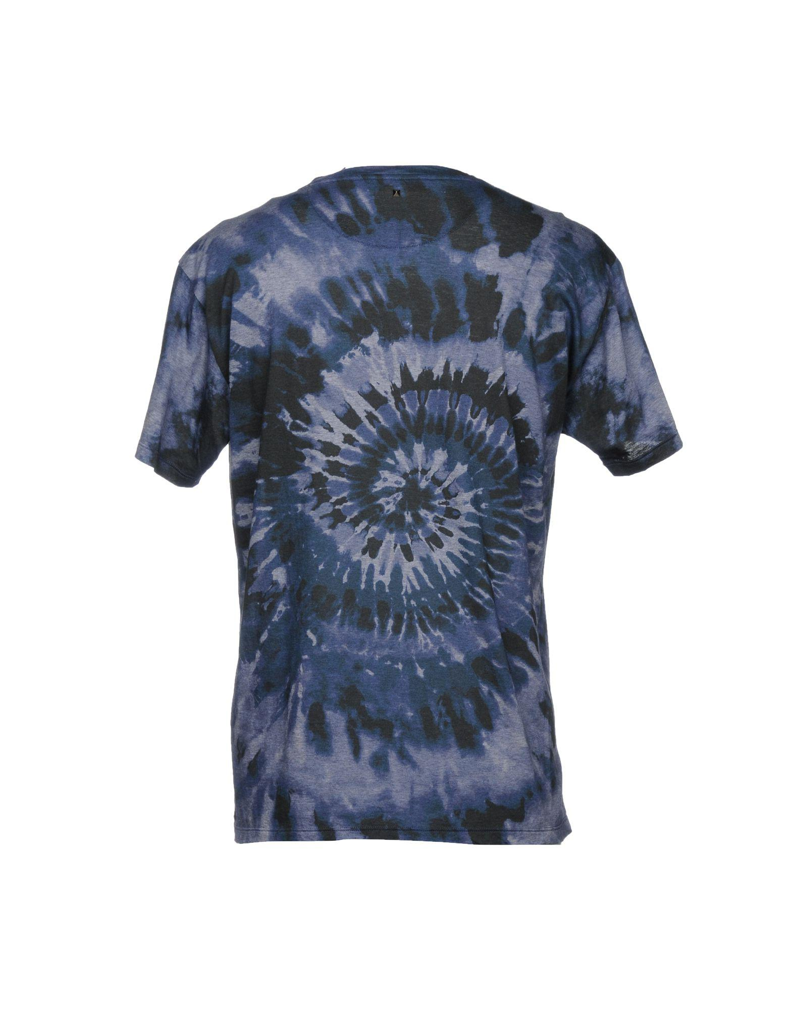 Lyst Valentino T Shirt In Blue For Men