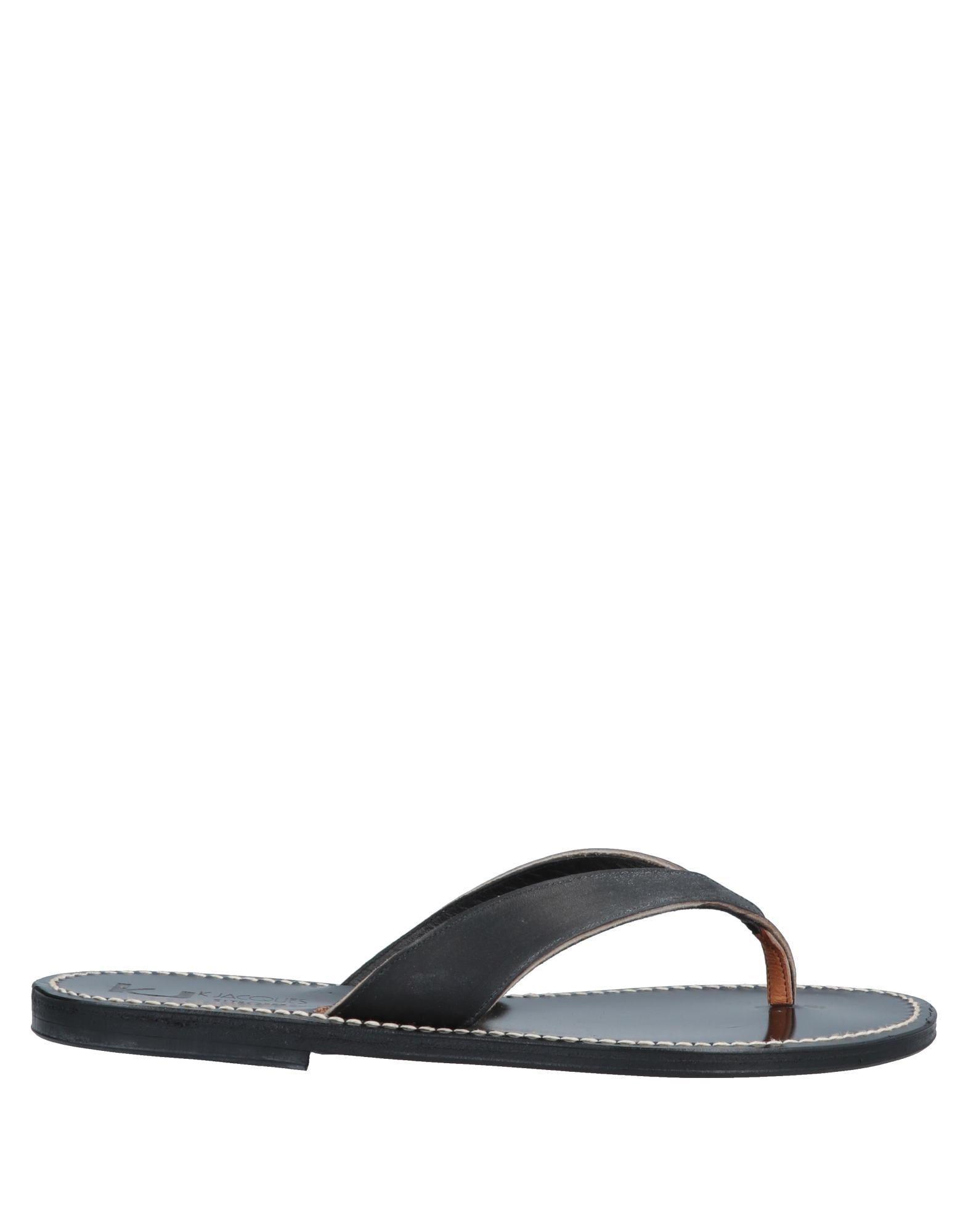 b392314cea86c Lyst - K. Jacques Toe Post Sandal in Black for Men