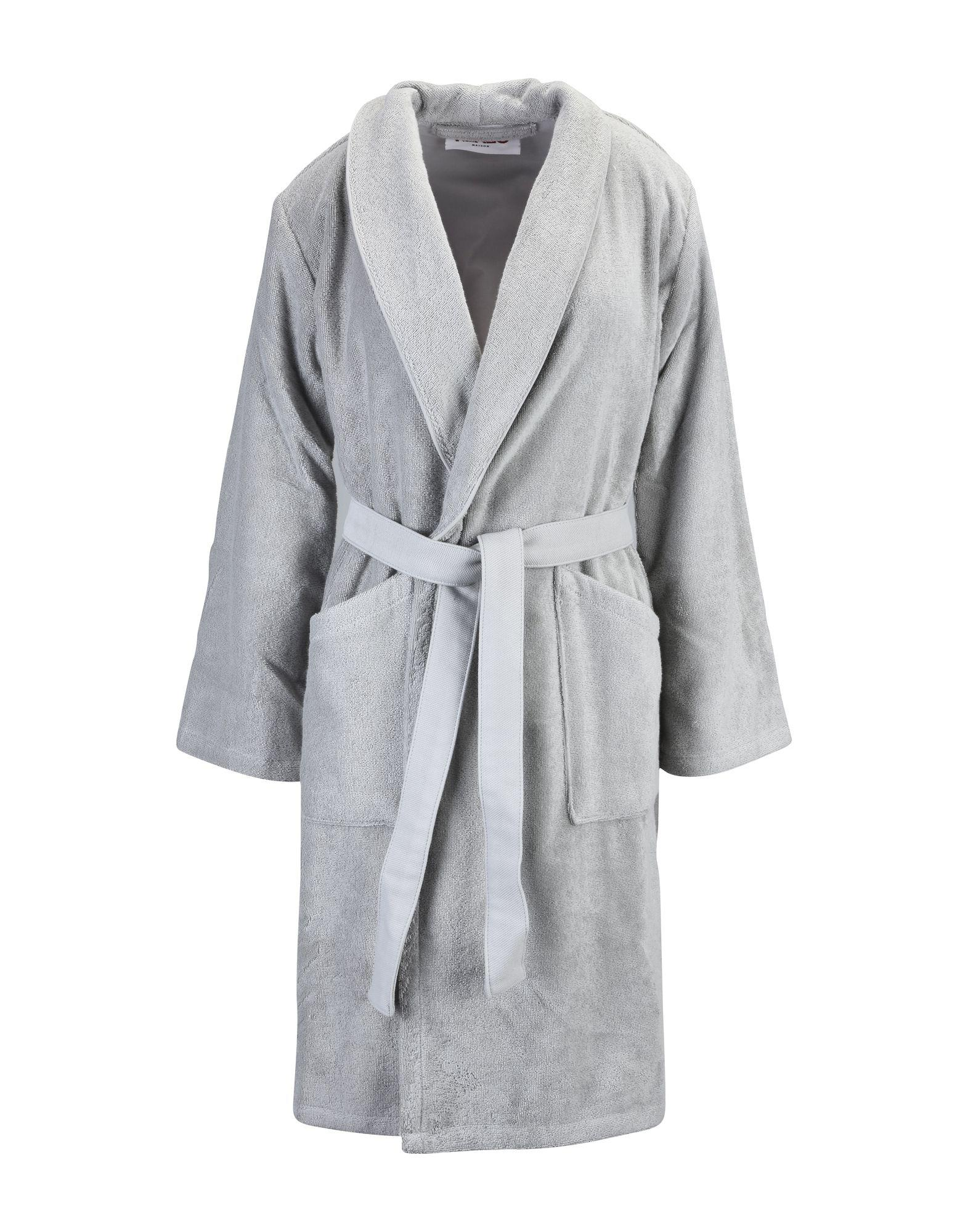 Kenzo Towelling Dressing Gown in Gray for Men - Lyst