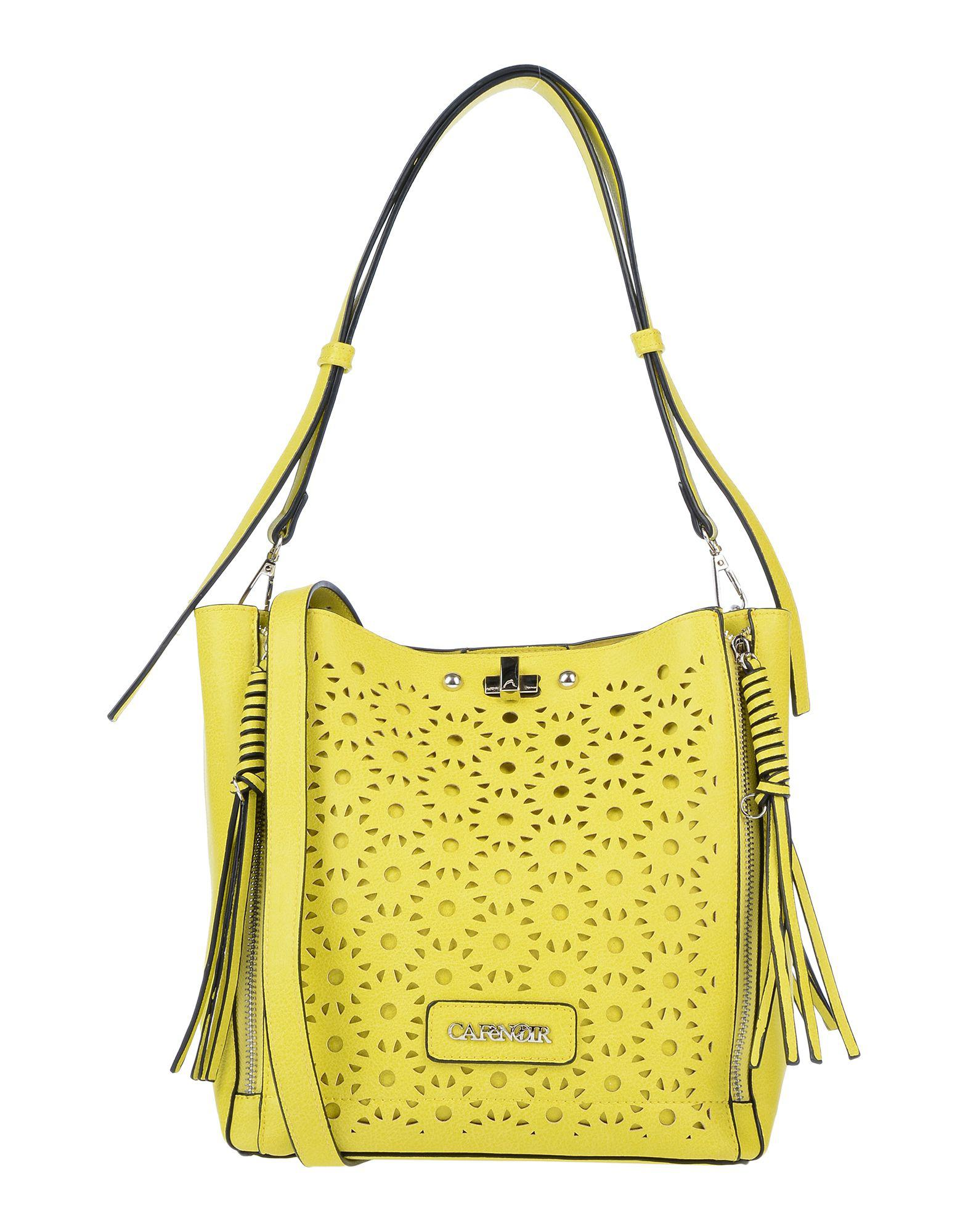 Lyst - Cafenoir Shoulder Bag in Yellow 34d107f9f0c