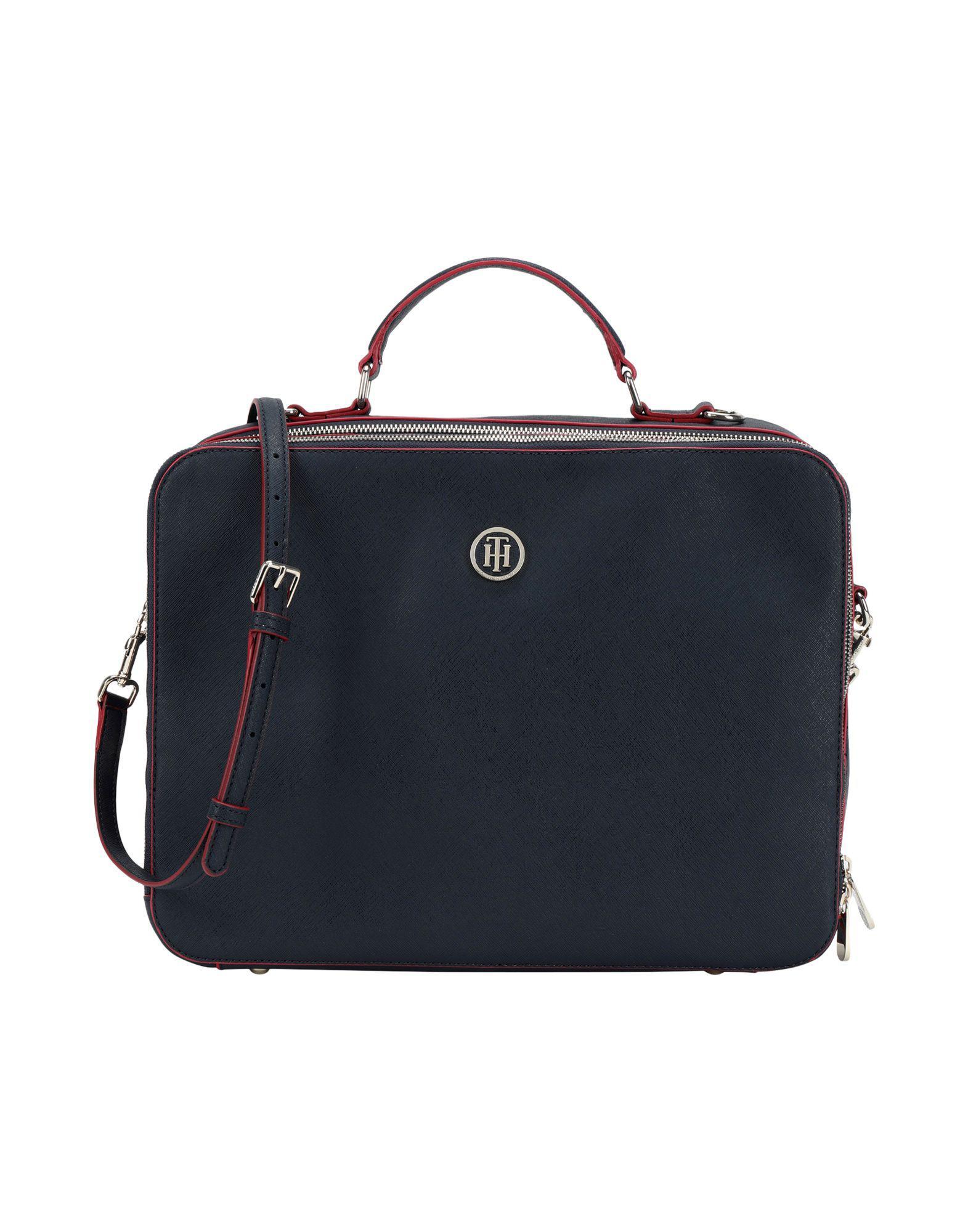 7ed45b061e3 Tommy Hilfiger Work Bags in Blue - Lyst